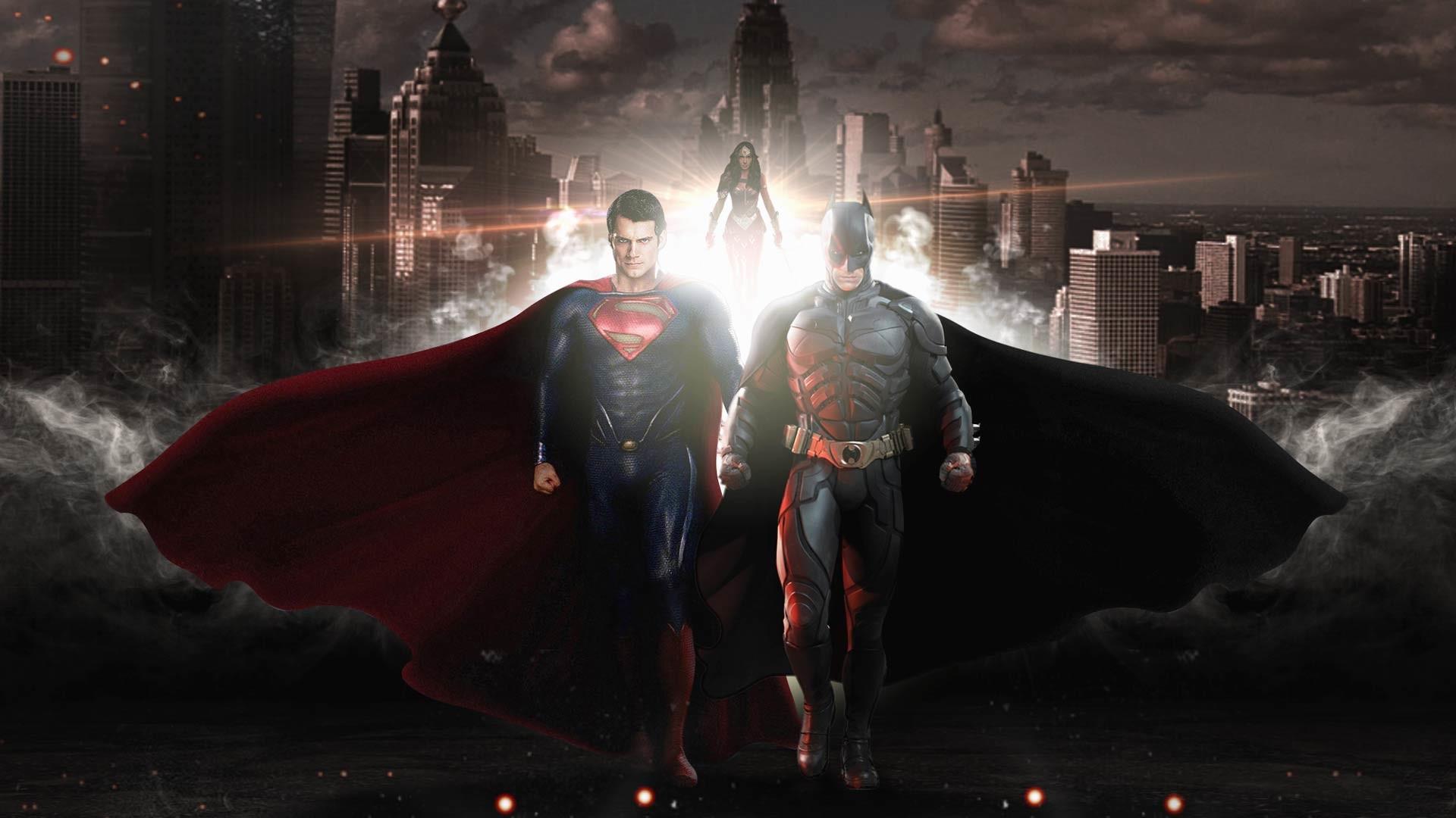 Batman And Superman Wallpaper Background.