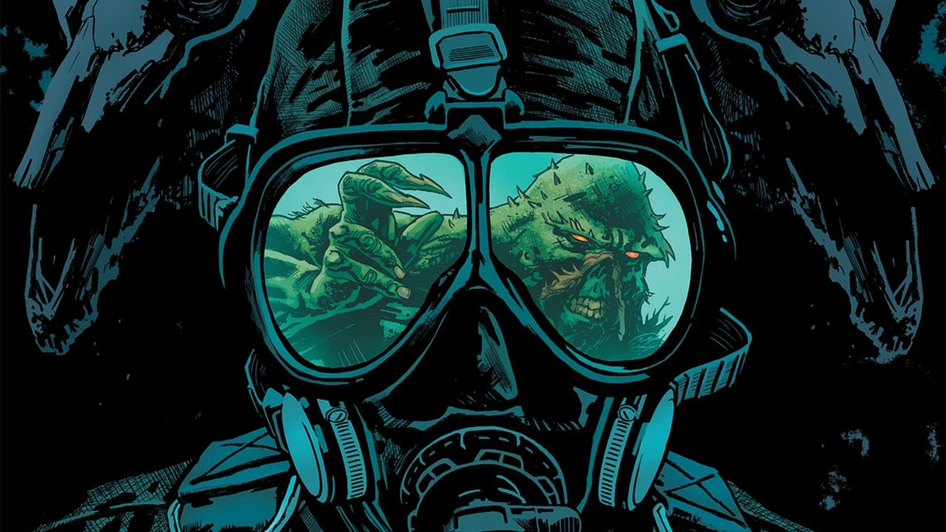 free screensaver wallpapers for swamp thing by Steel Round (2017-03-16)