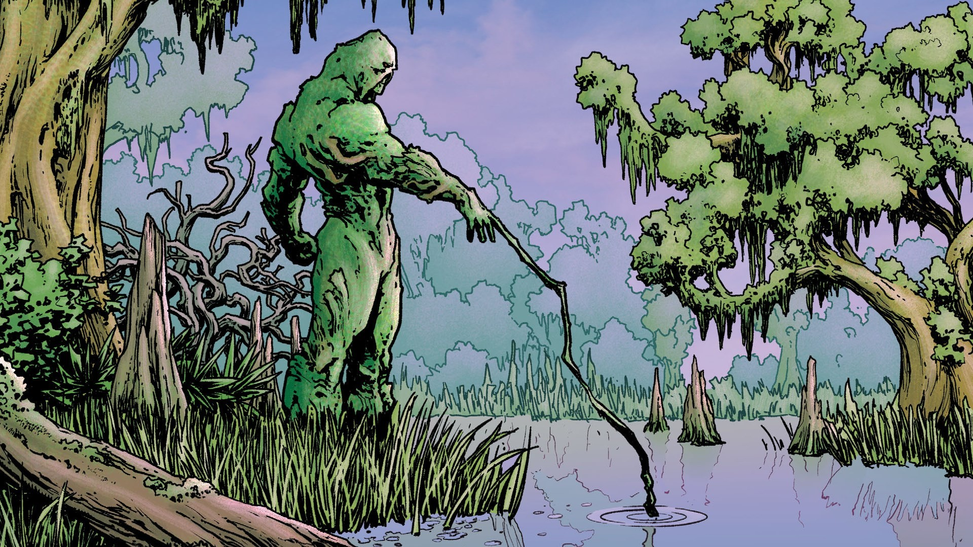Desktop Background – swamp thing