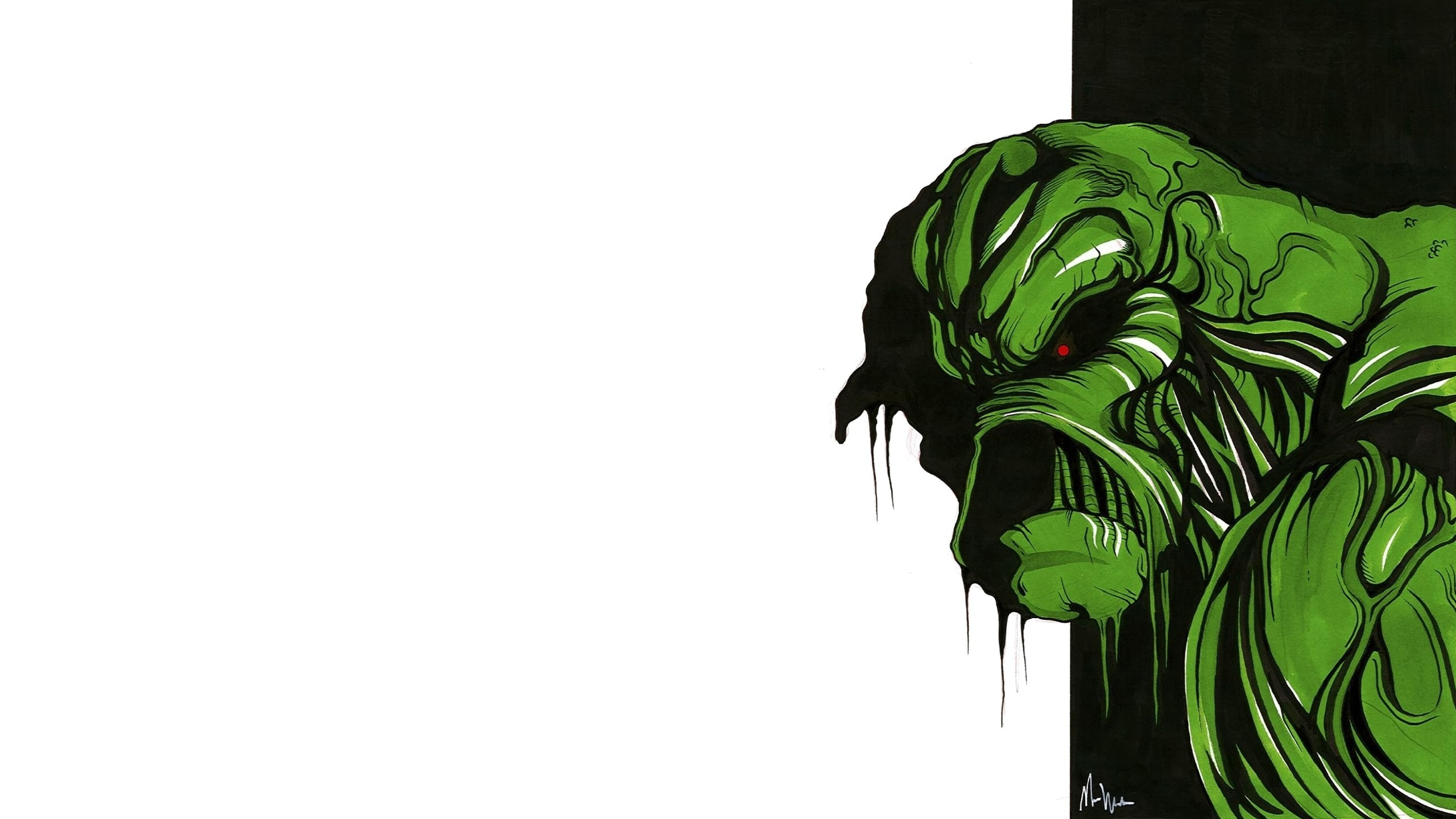 swamp thing : High Definition Background