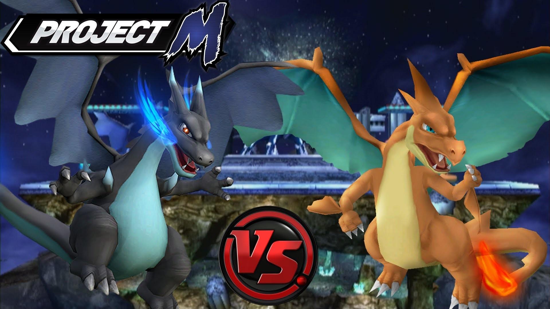 Project M: Mega Charizard Y vs. Mega Charizard X