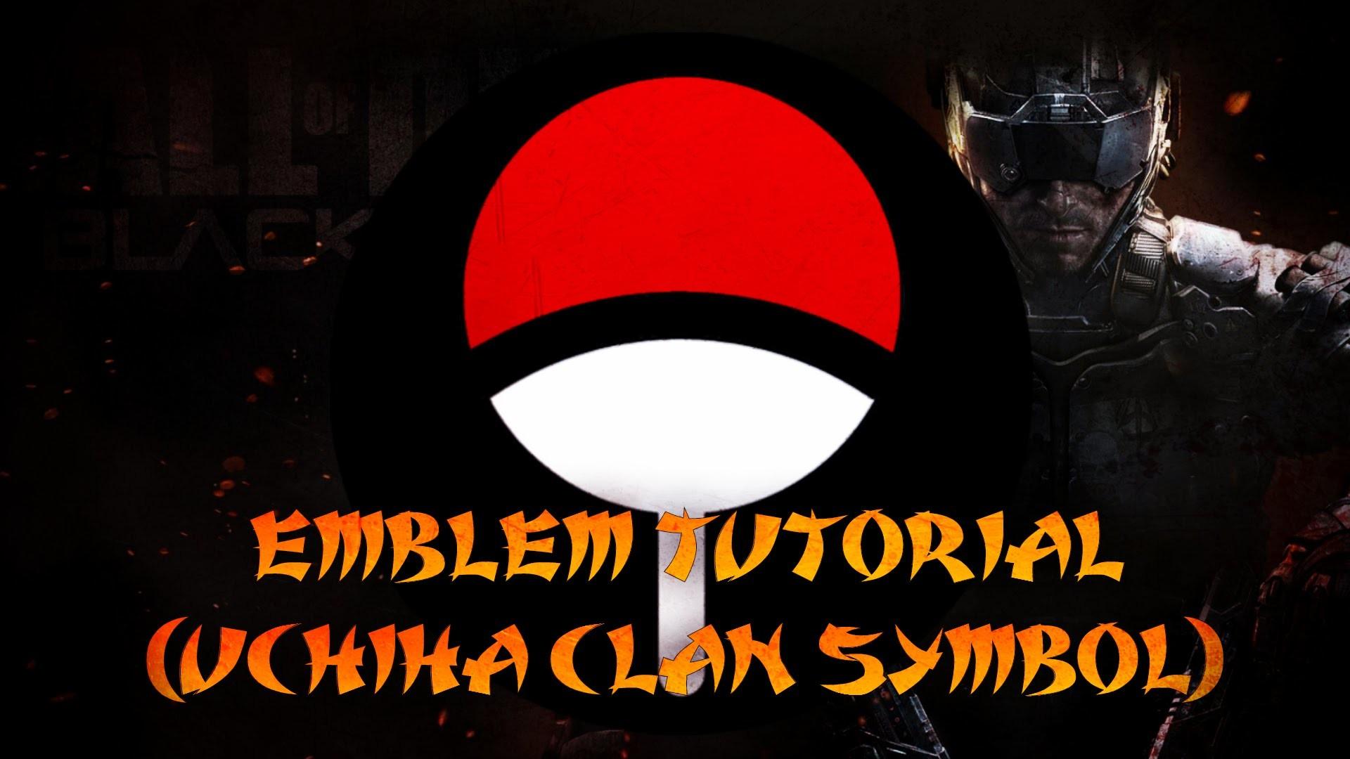 INFINITE WARFARE/BO3 EMBLEM HOW TO MAKE UCHIHA CLAN SYMBOL !!!! – YouTube