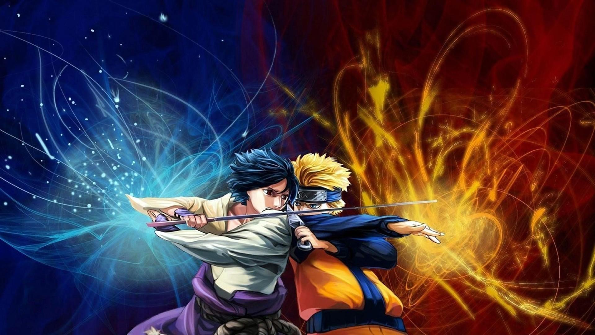 Fighting Uchiha Sasuke Naruto: Shippuden Uzumaki Naruto wallpaper |  | 183951 | WallpaperUP