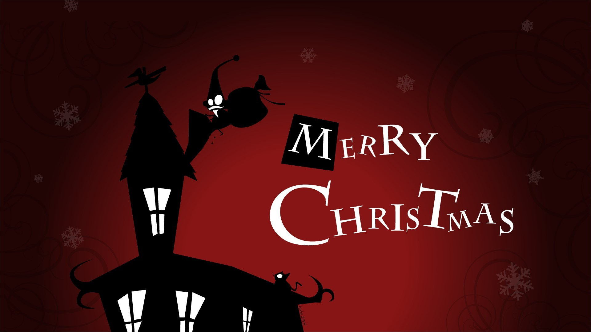 Merry Christmas Cartoon Images HD Wallpapers