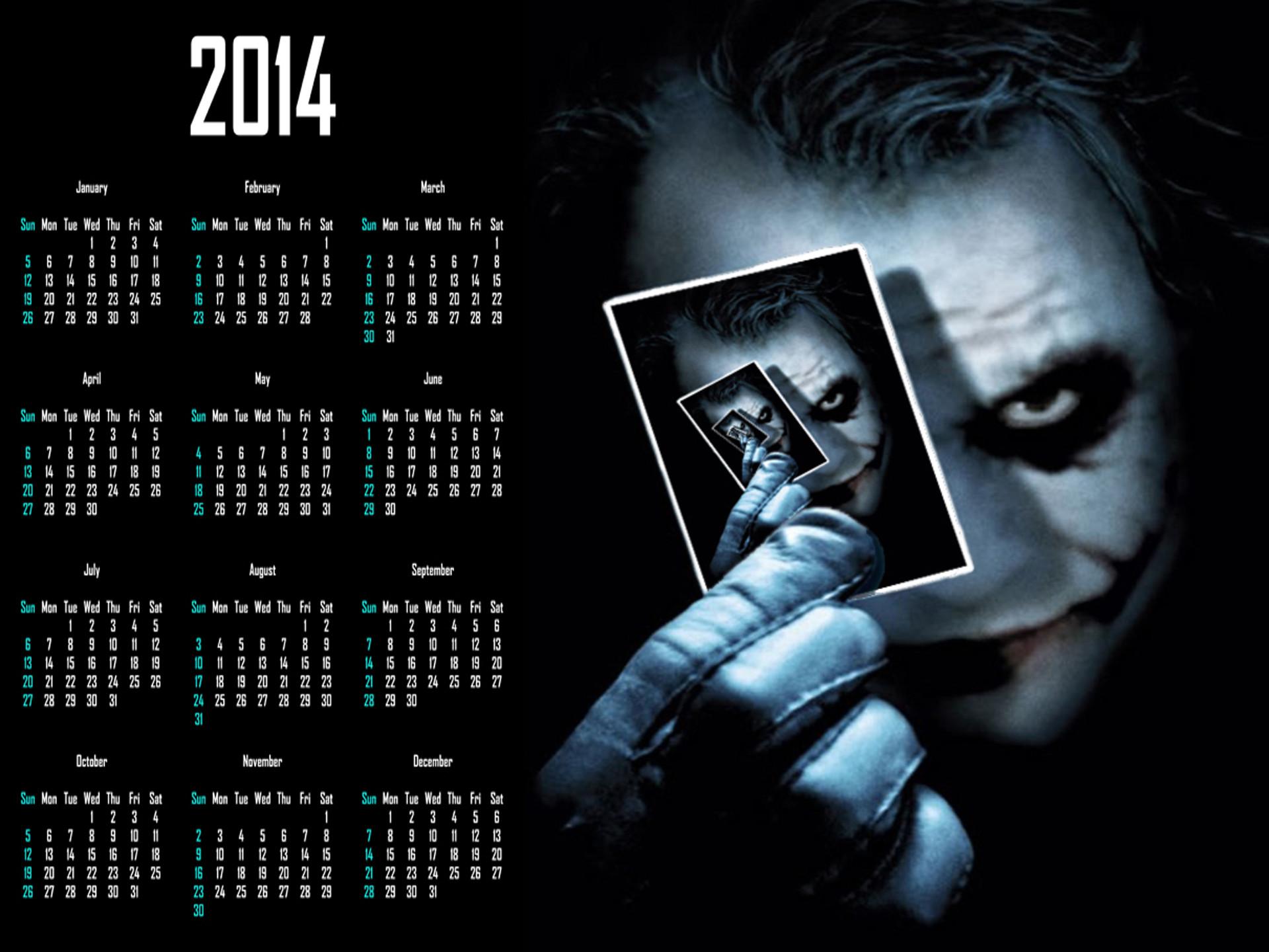 Celebrity 2014 Calendars, Johnny Depp, Paul Walker, Beyonce, Emma Stone,  Great Gatsby
