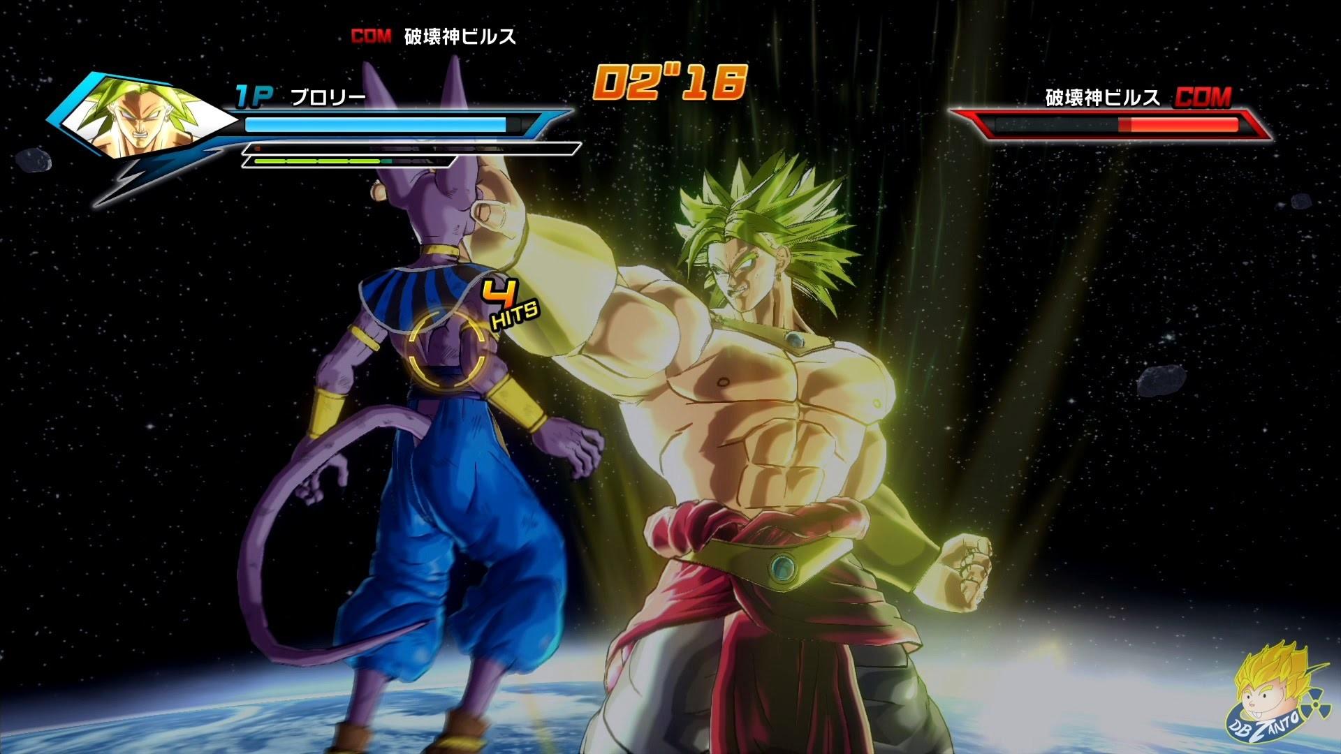 Dragon Ball Xenoverse (PS4):Legendary Super Saiyan Broly Vs Beerus【60FPS  1080P】 – YouTube