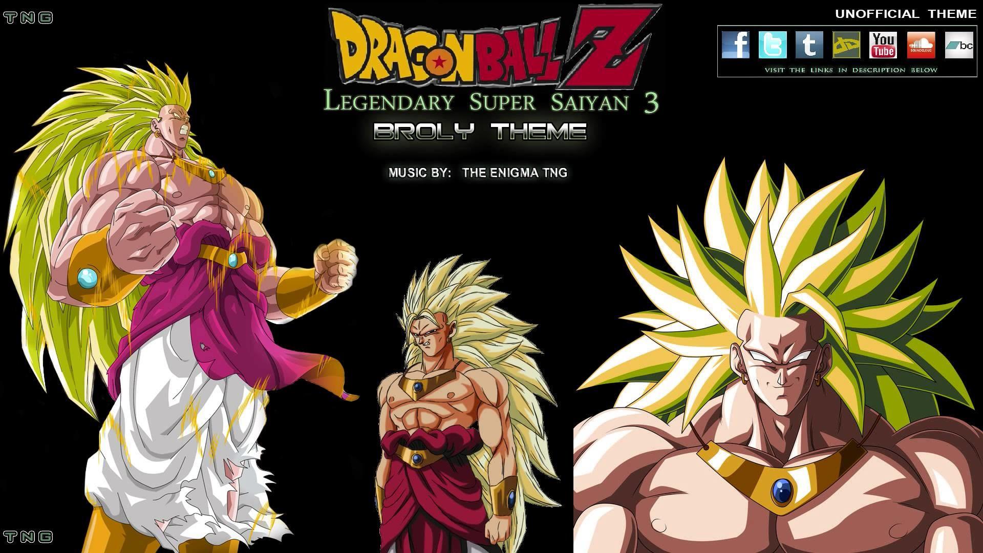 Dragon Ball Z – Unofficial Super Saiyan 3 Broly Theme (The Enigma TNG) –  YouTube