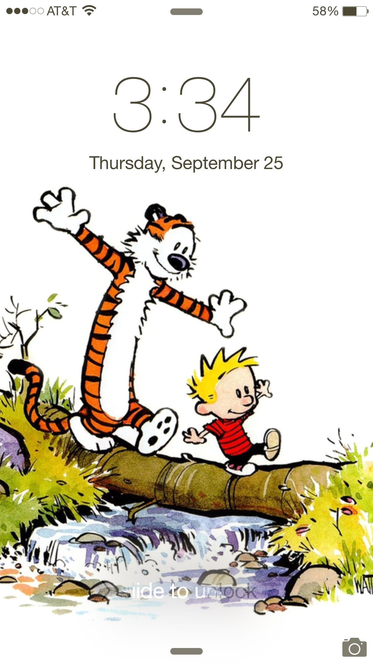 iPhone 6/6 Plus users, show us your lock screen wallpapers!