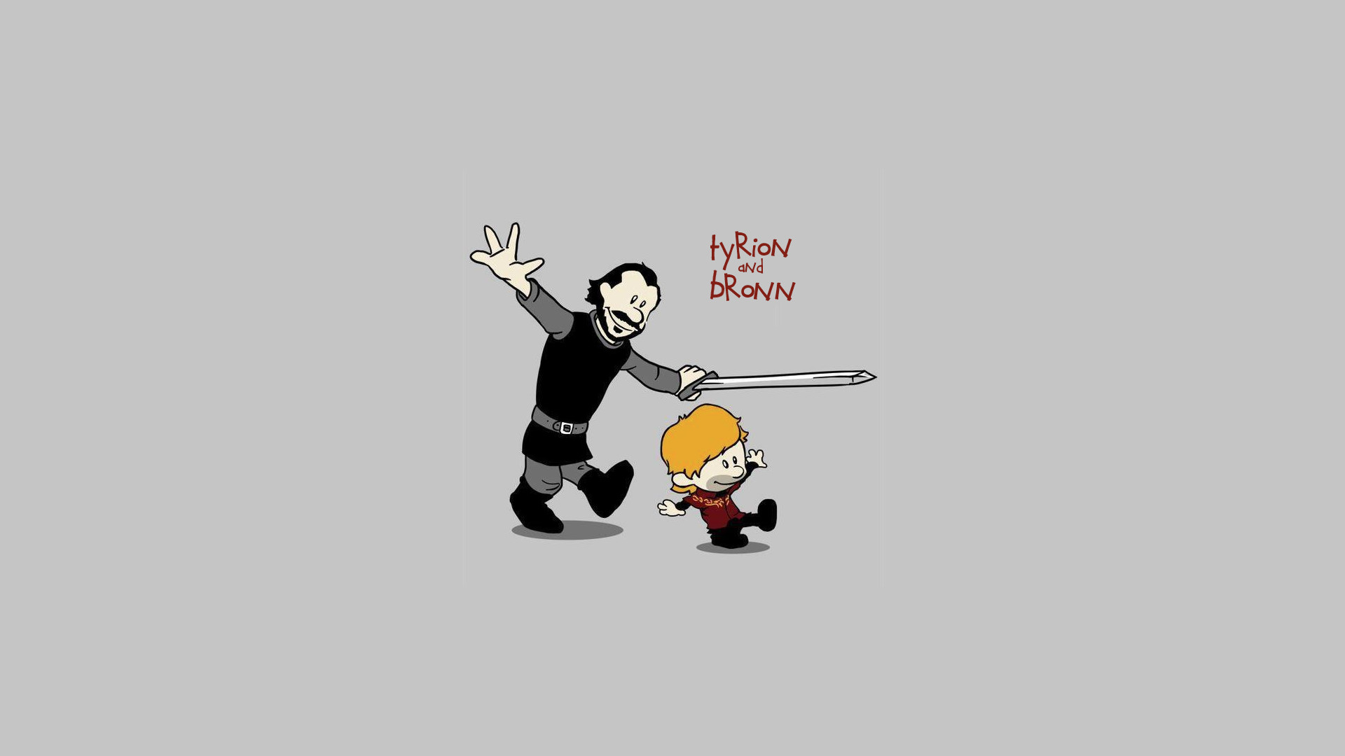 Game of Thrones calvin & hobbes styled [1920×1080]. (not sure where the  original image is from, I just made it a wallpaper and redid the font to  remove …