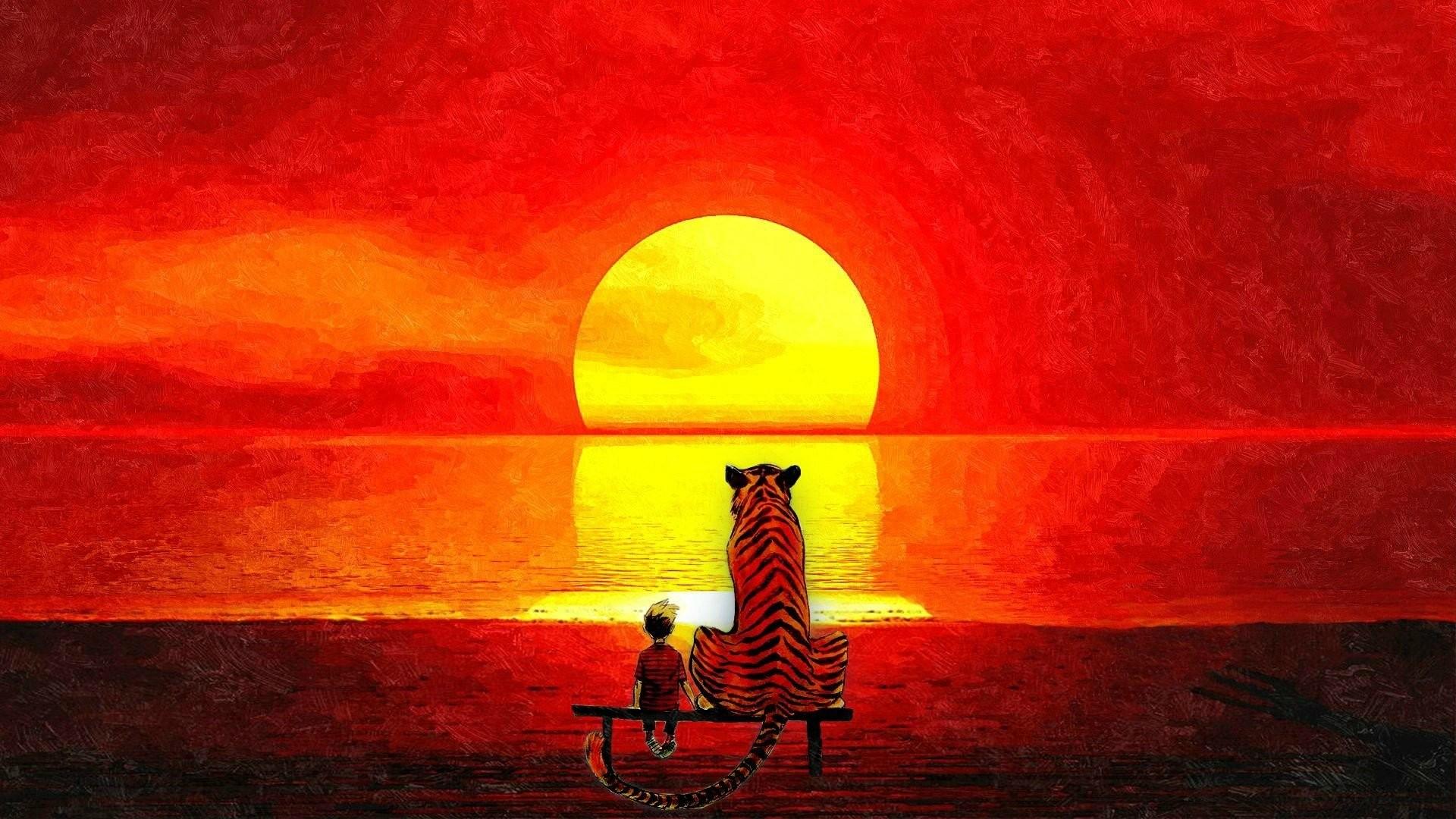 Calvin Calvin & Hobbes · HD Wallpaper | Background ID:670124