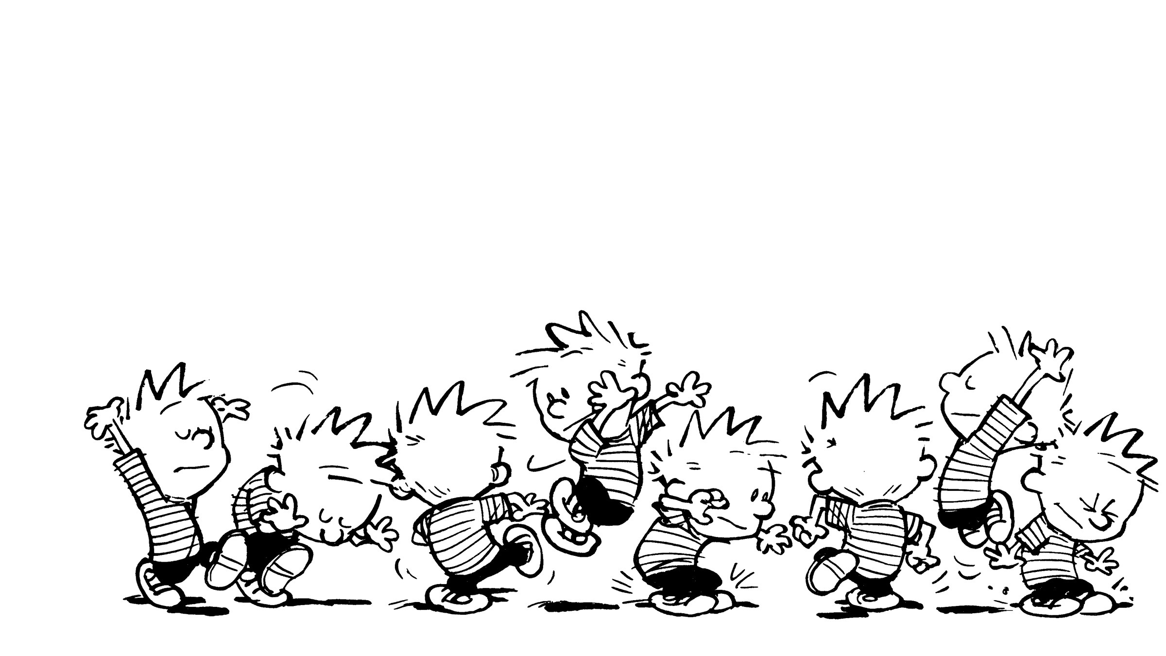Comics – Calvin & Hobbes Calvin (Calvin & Hobbes) Wallpaper
