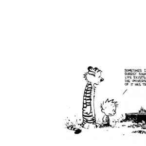 Calvin and Hobbes iPhone