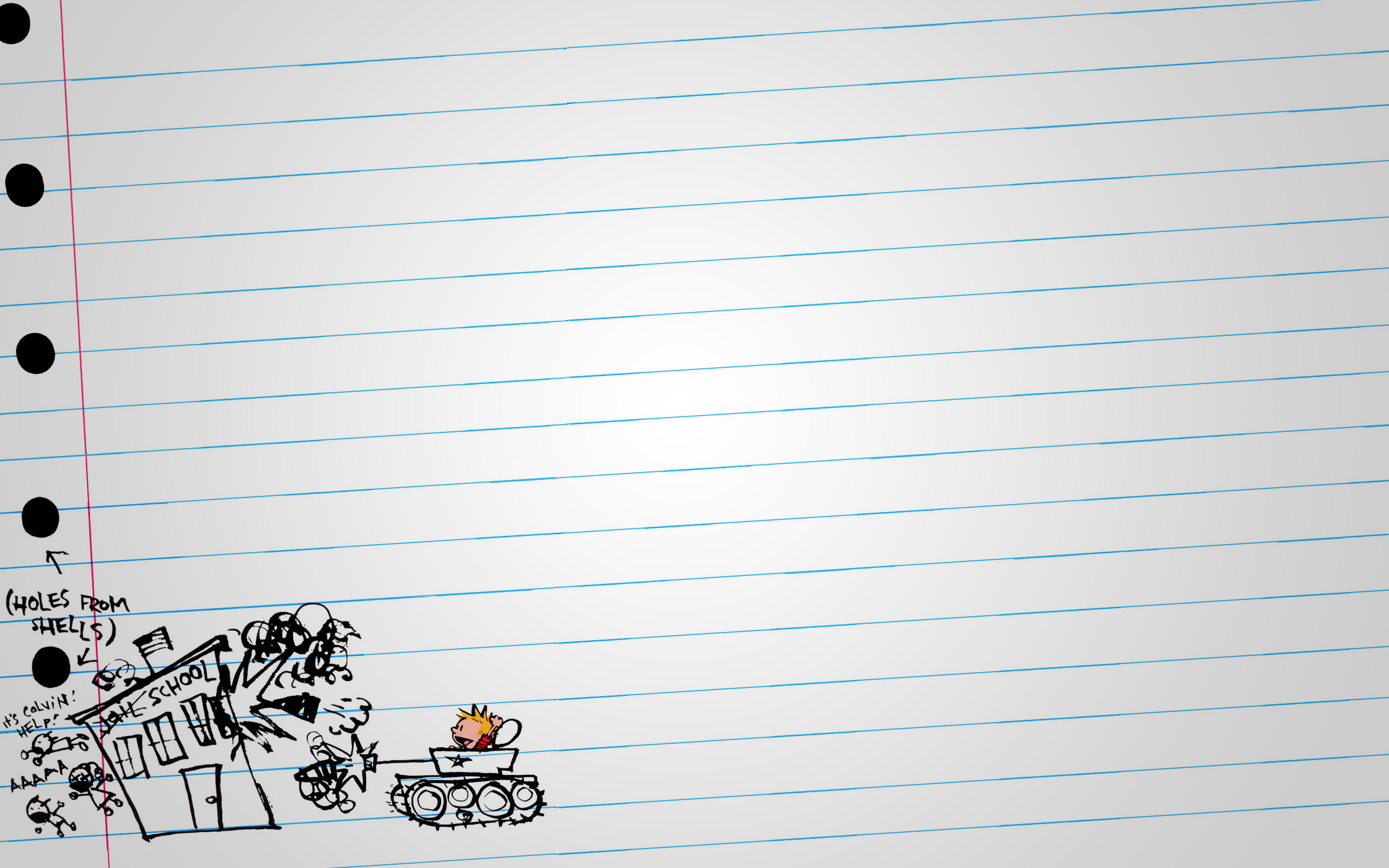 Calvin and Hobbes Notebook wallpapers and stock photos