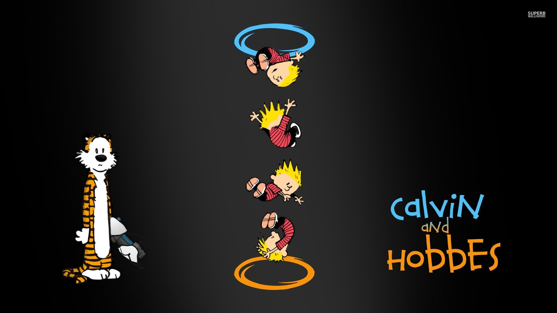 Calvin And Hobbes Portal Crossover