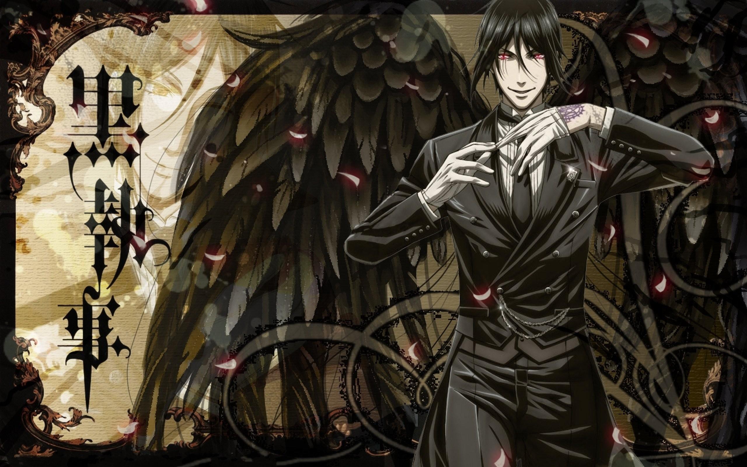 Awesome Black Butler Sebastian Wallpaper.