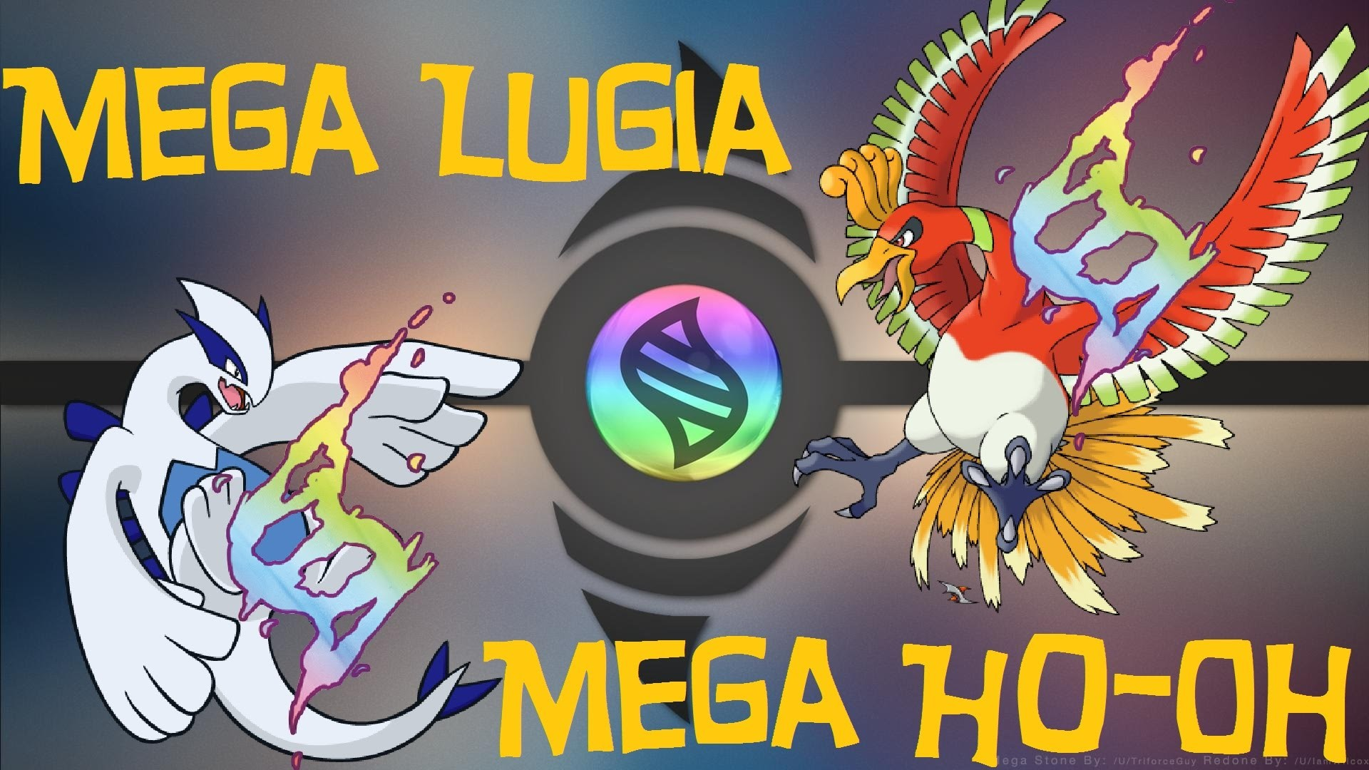 Mega Lugia and Ho-Oh | Pokemon Omega Ruby and Alpha Sapphire (Fan Made) –  YouTube
