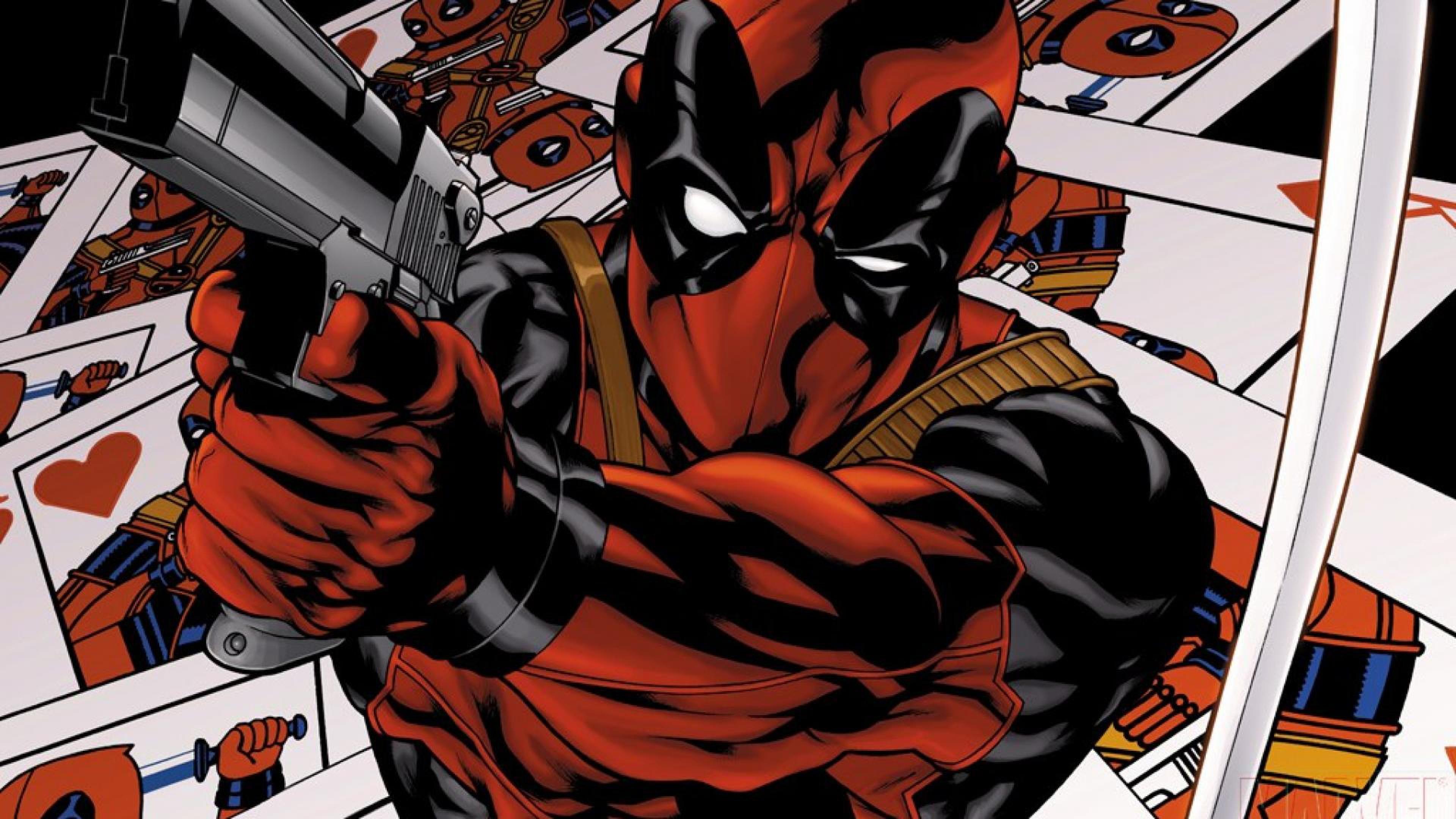 Deadpool, The new mutants, Marvel comics Wallpaper, Background 4K .