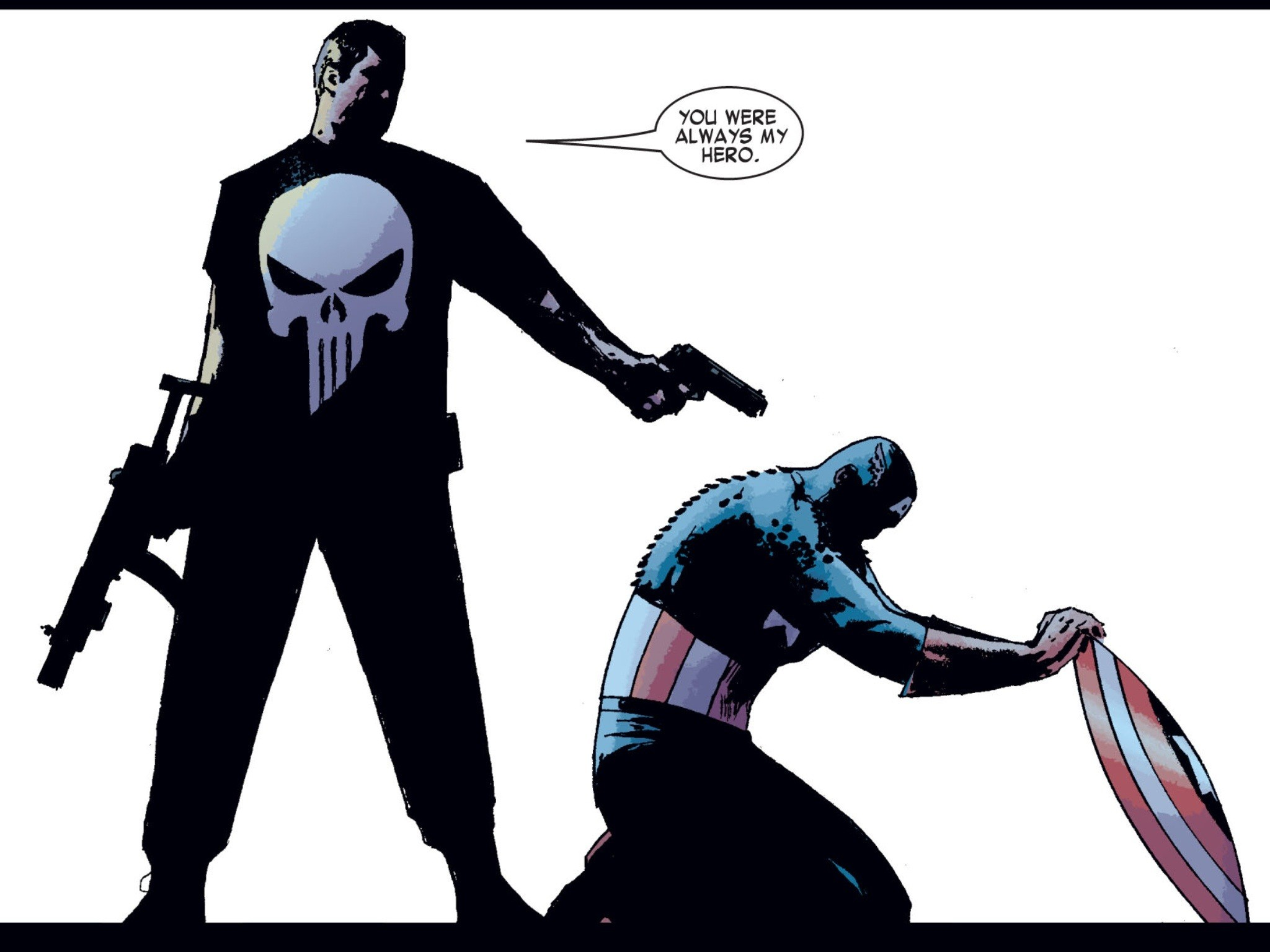 Reminds me of this from The Punisher …