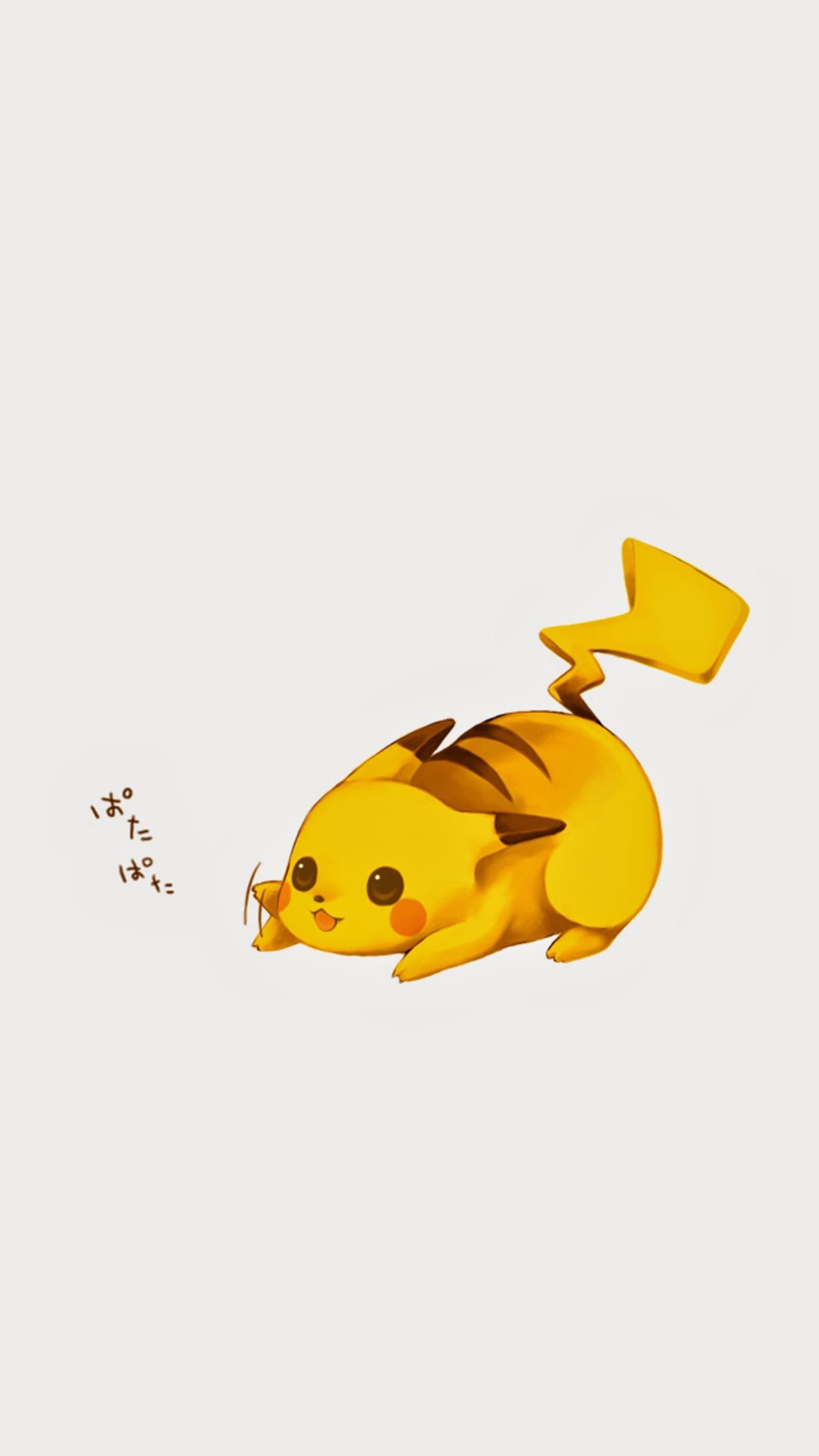 Tap image for more iPhone 6 Plus Pikachu wallpapers! Pikachu – @mobile9    Cute