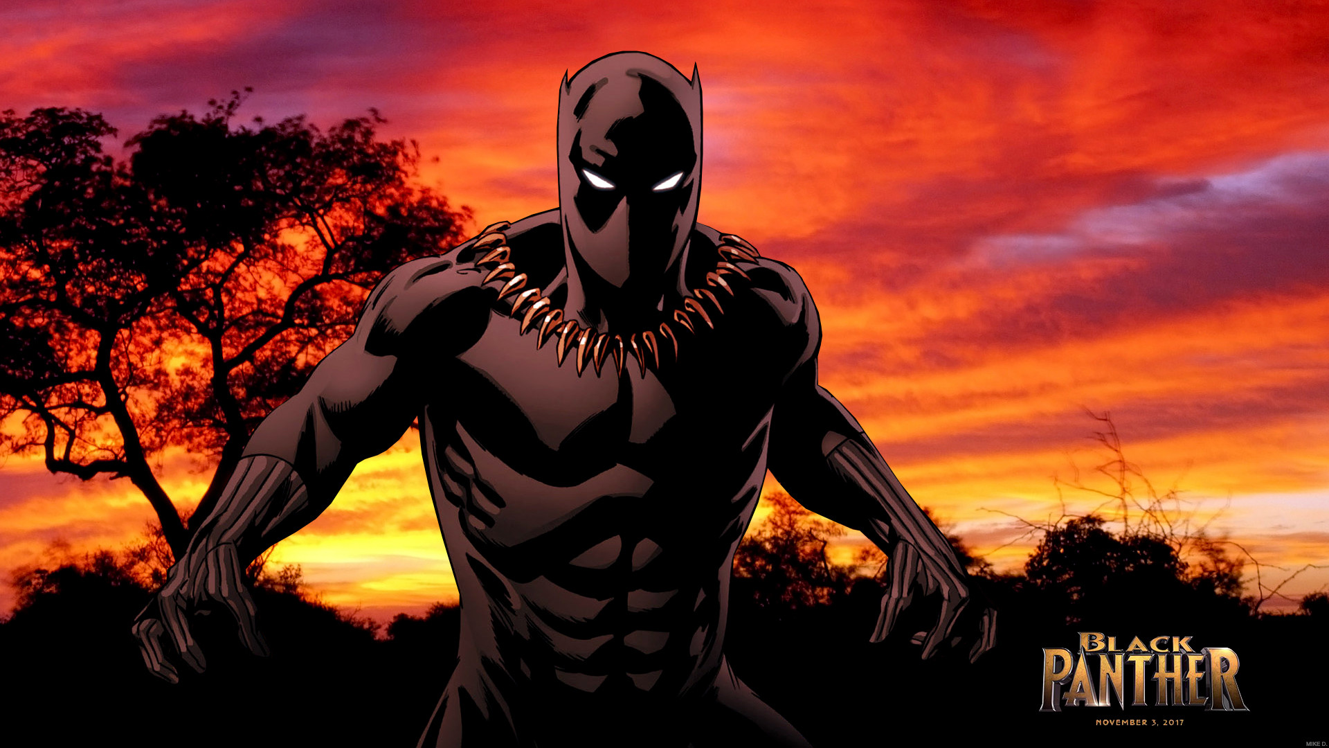 Black Panther Marvel Hd · Black Panther by Xionice on DeviantArt