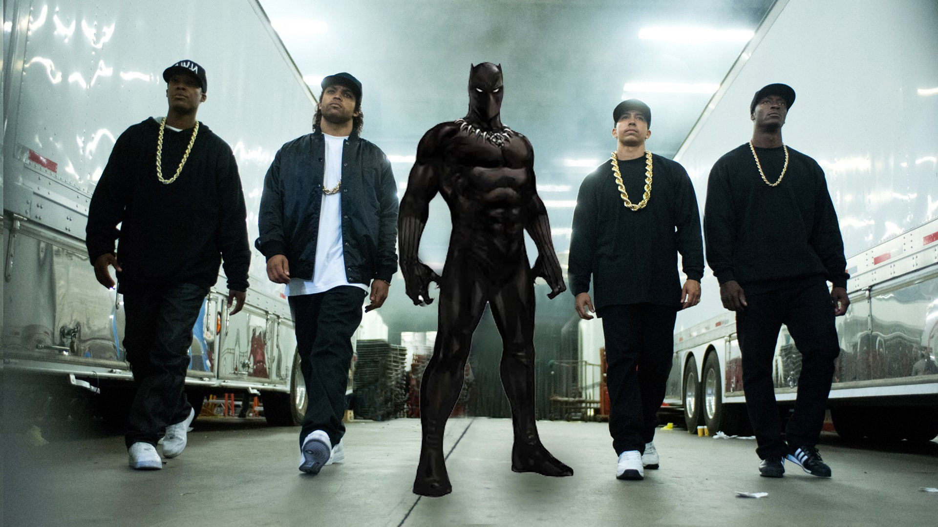straight outta compton black panther