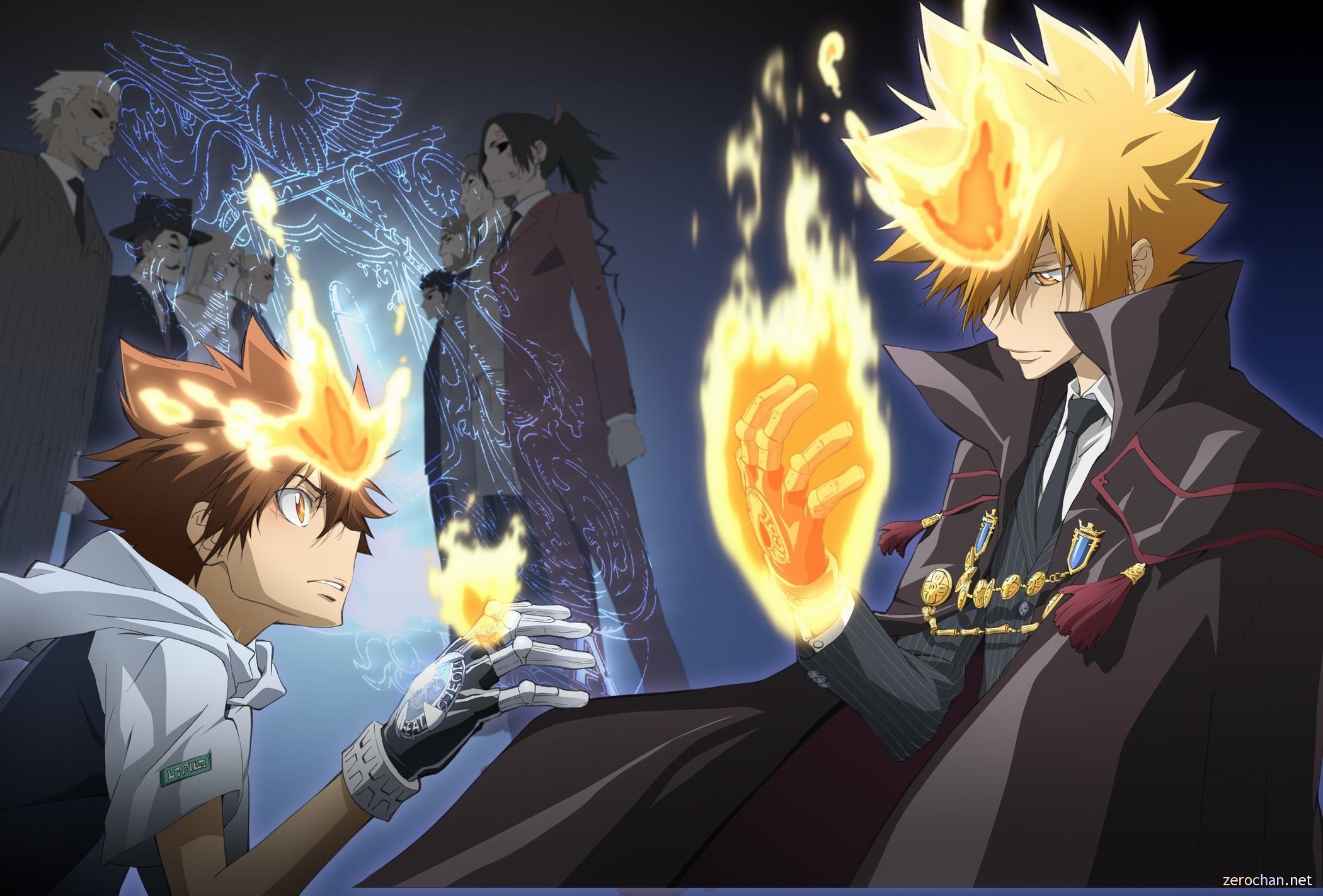 HD Wallpaper   Background ID:123044. Anime Katekyō Hitman Reborn!