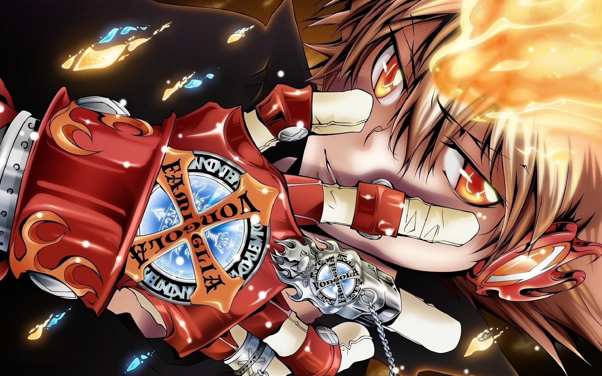 HD Wallpaper   Background ID:177650. Anime Katekyō Hitman Reborn!