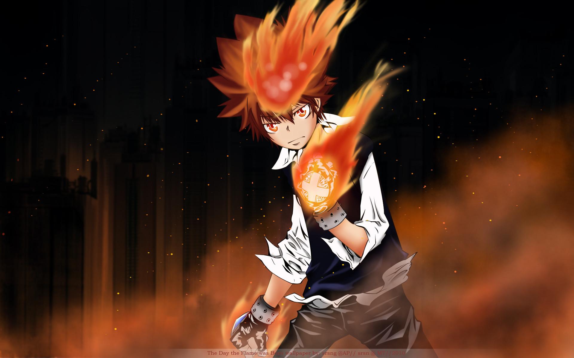 Anime – Katekyō Hitman Reborn! Wallpaper