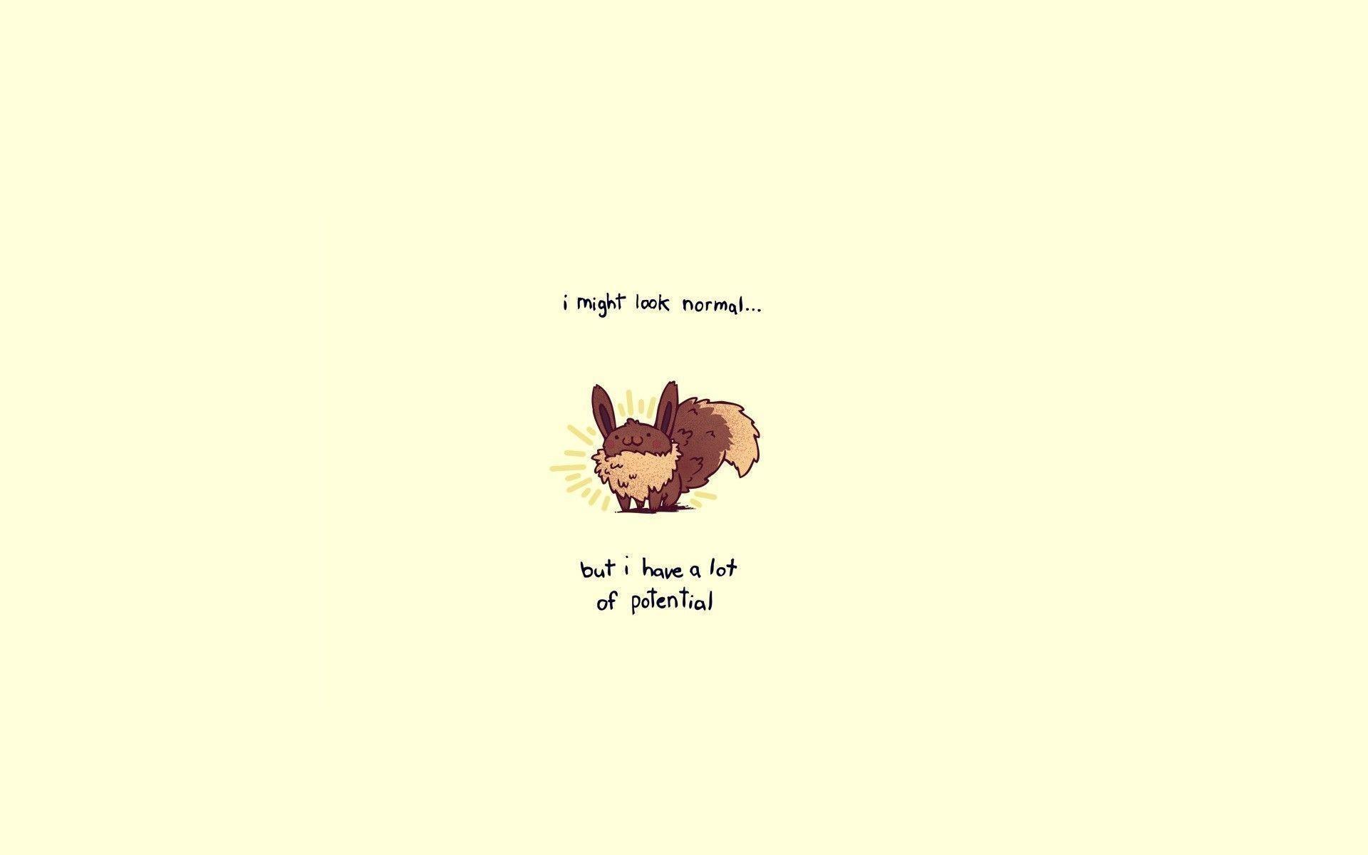 Eevee Pokemon Wallpaper Cute Humor Funny Cartoons Wallpapers