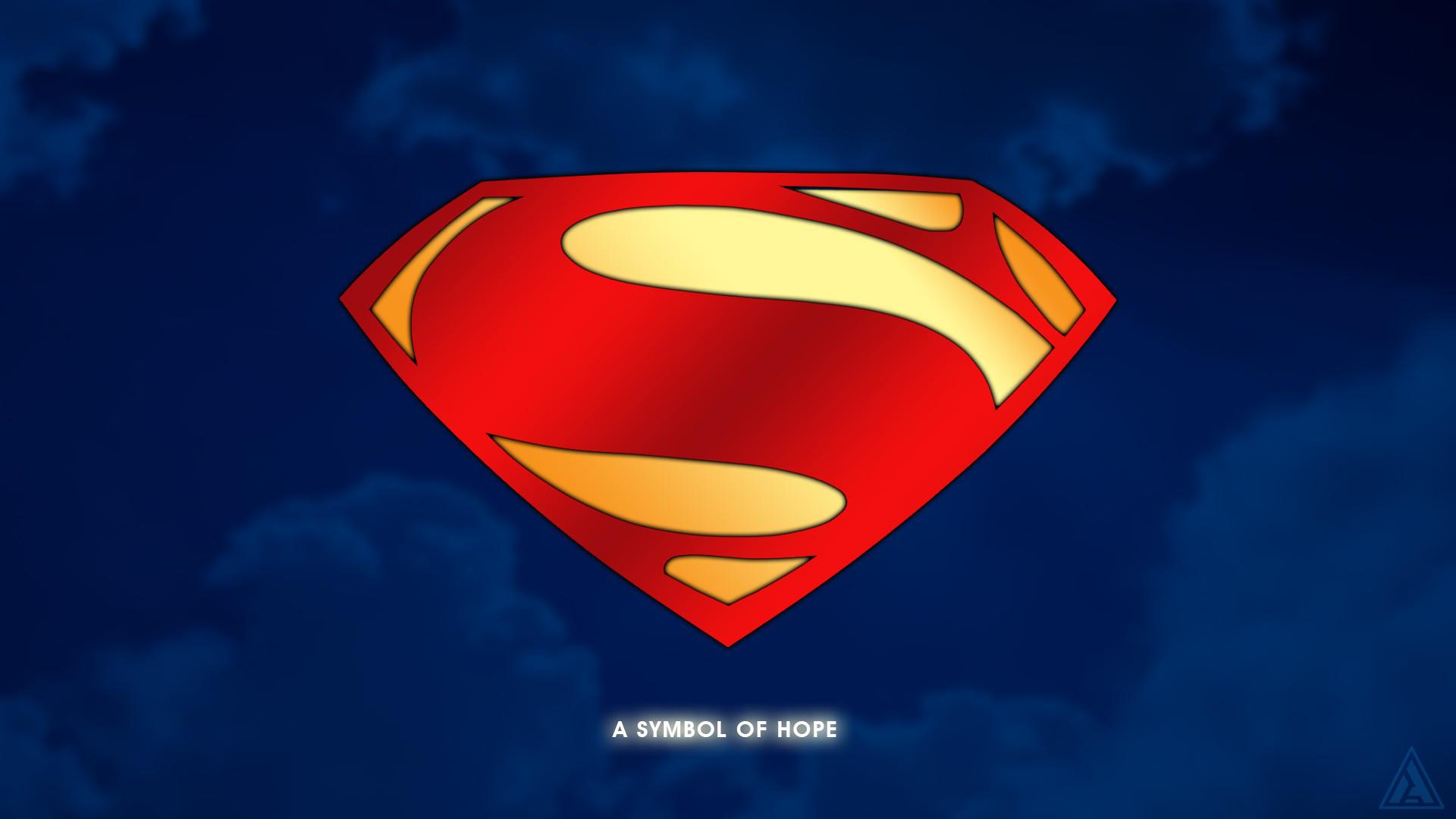 Updated Superman Shield/logo Wallpaper.