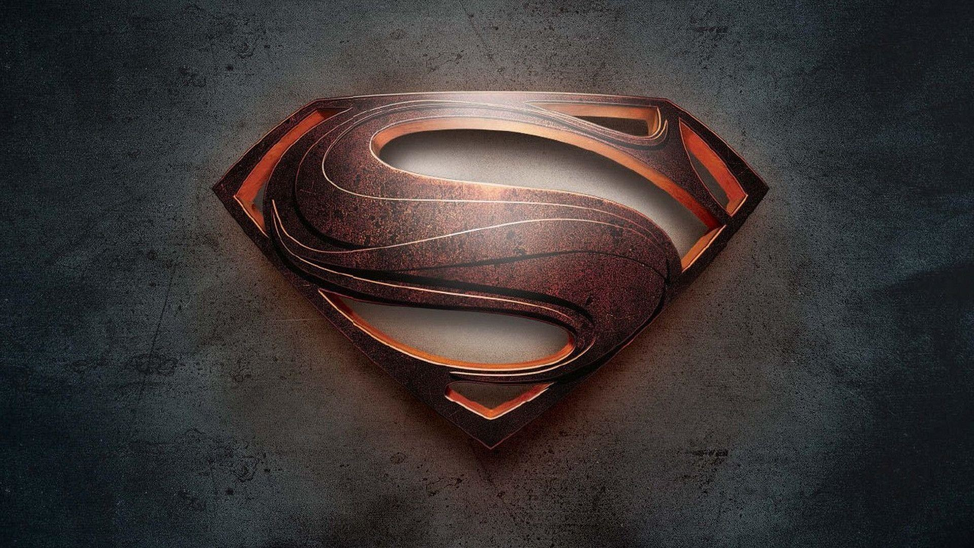 Superman Logo Wallpaper HD (Man of Steel) 1080p   Genovic.