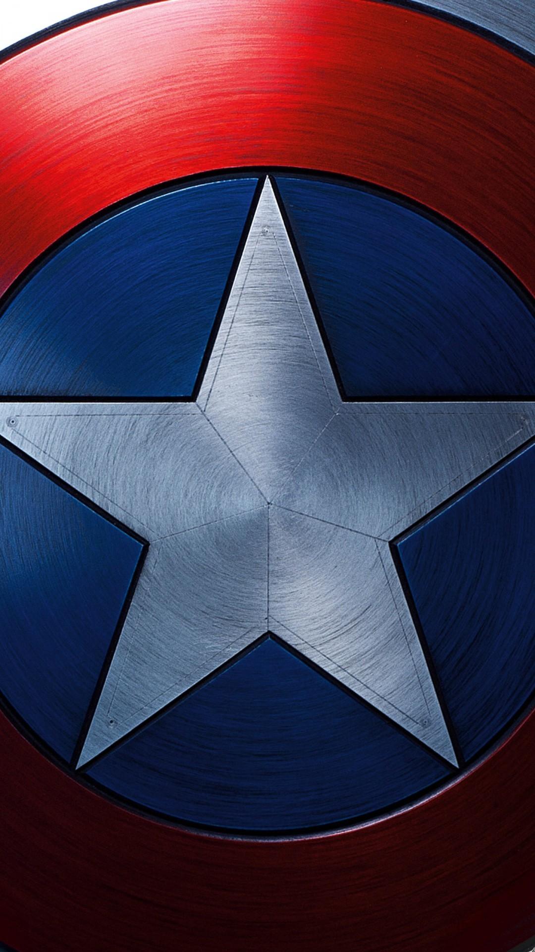 Captain America Shield Wallpaper terijoki