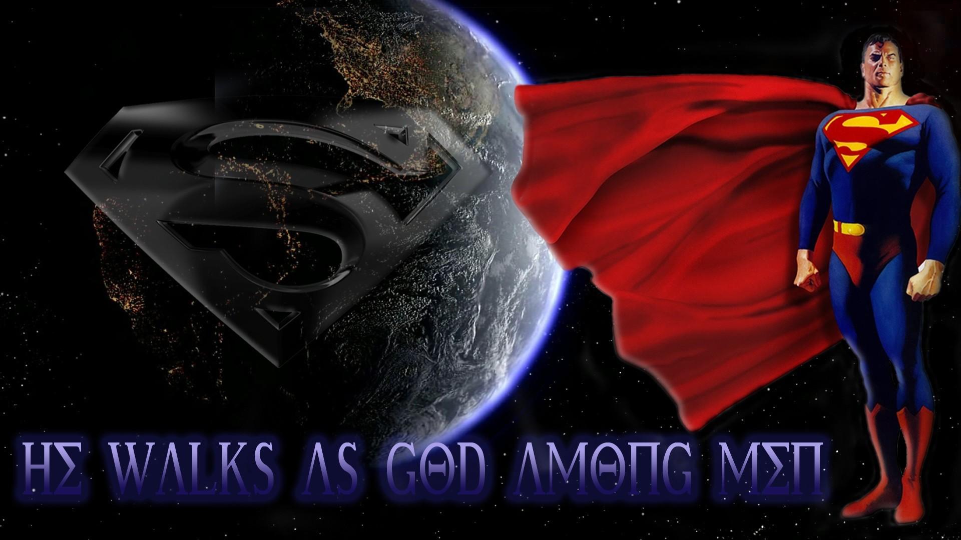 superman hd dc comic theme
