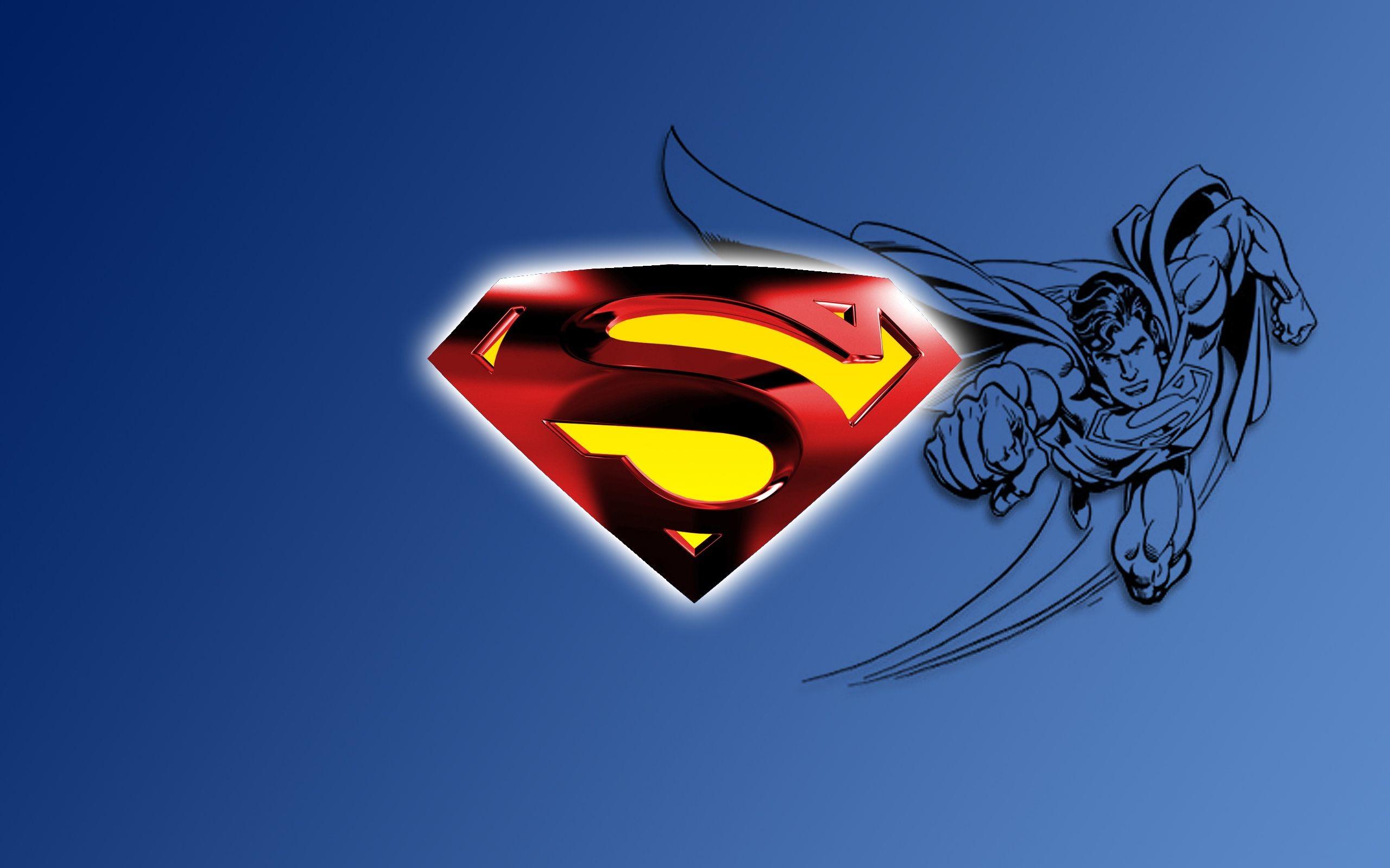 Top Superman Logo Desktop Backgrounds Wallpapers