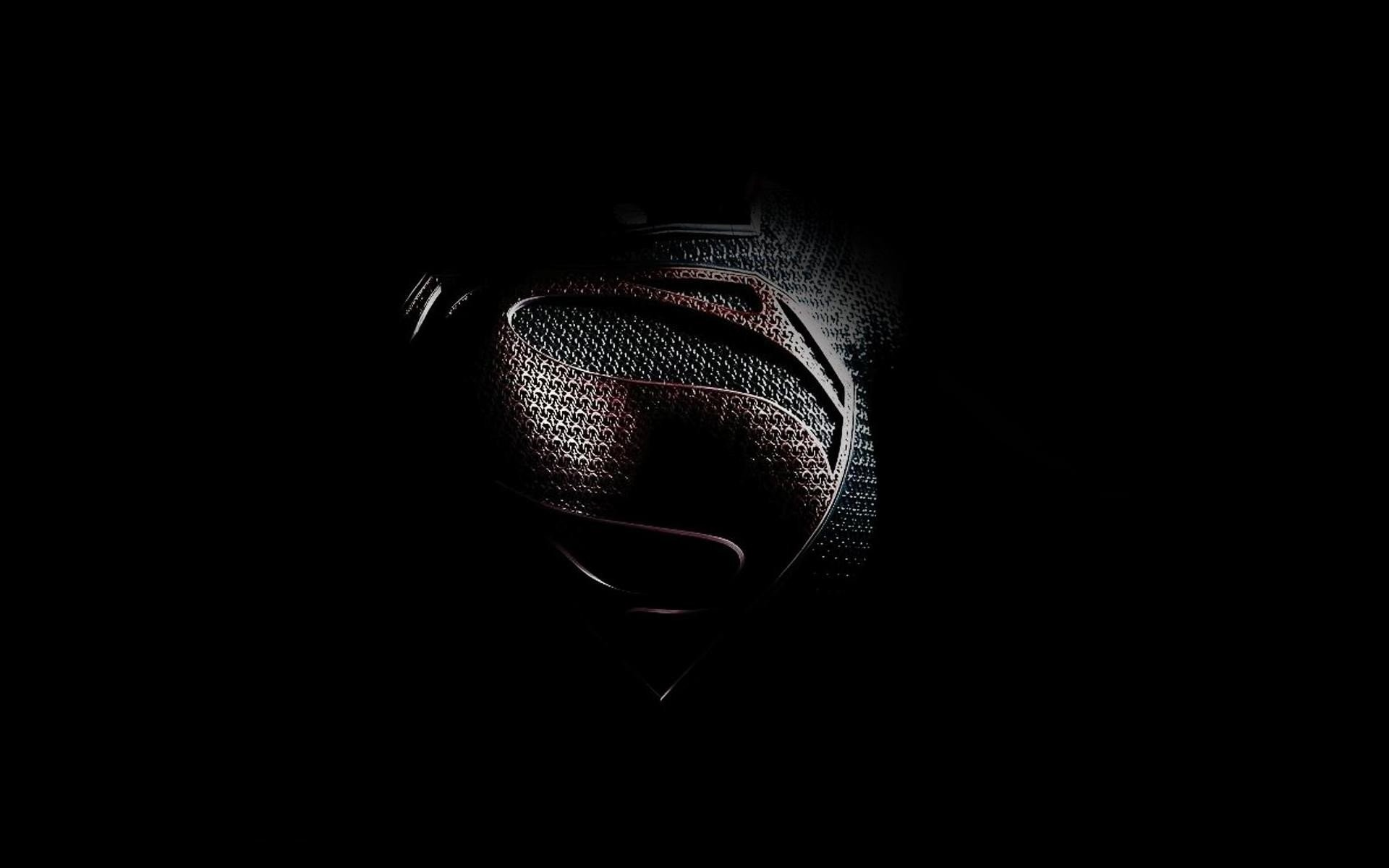 Black minimalistic movies Superman Man of Steel (movie) wallpaper      301966   WallpaperUP