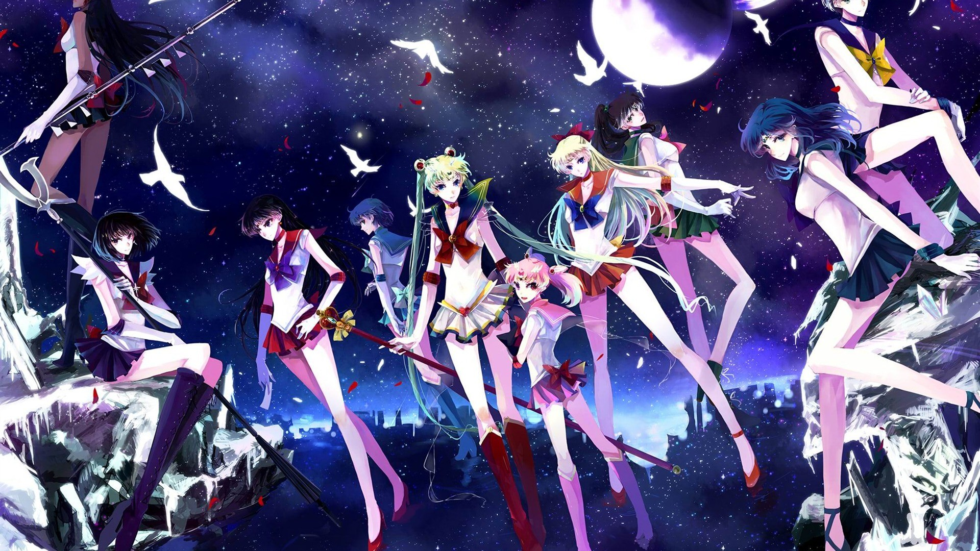 Sailor Moon Anime HD wallpaper 04 – wallpaper download .