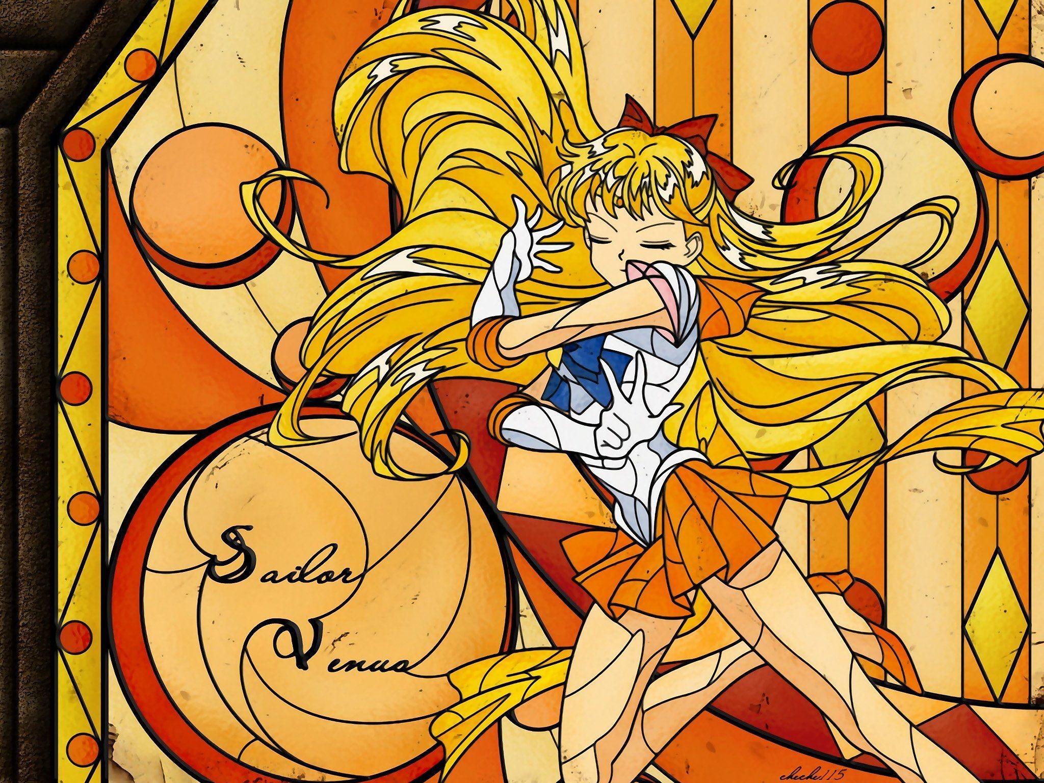 Sailor Venus sailor uniforms Bishoujo Senshi Sailor Moon wallpaper .