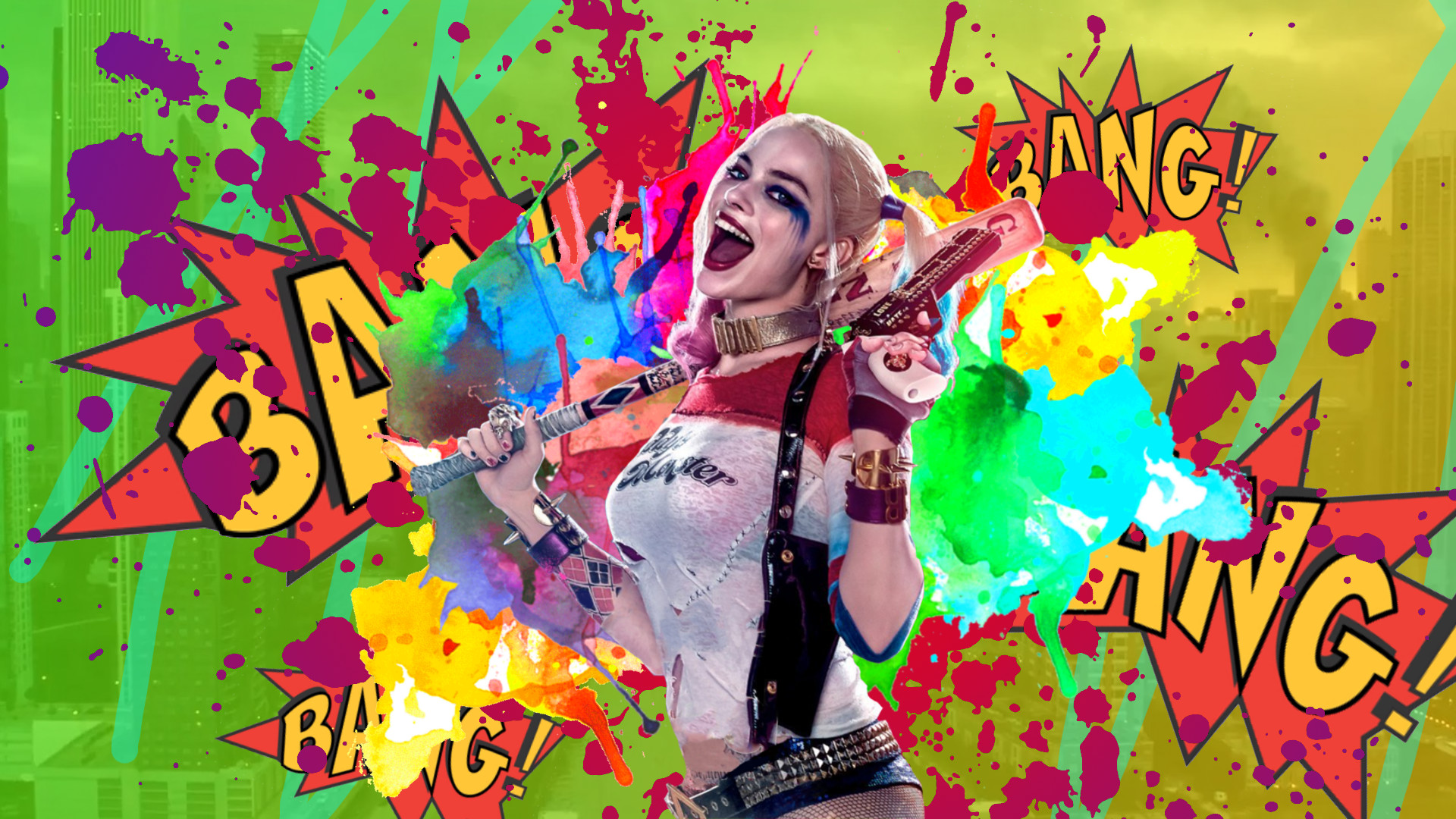 Suicide Squad Harley Quinn Wallpaper by KryptixDesigns Suicide Squad Harley  Quinn Wallpaper by KryptixDesigns