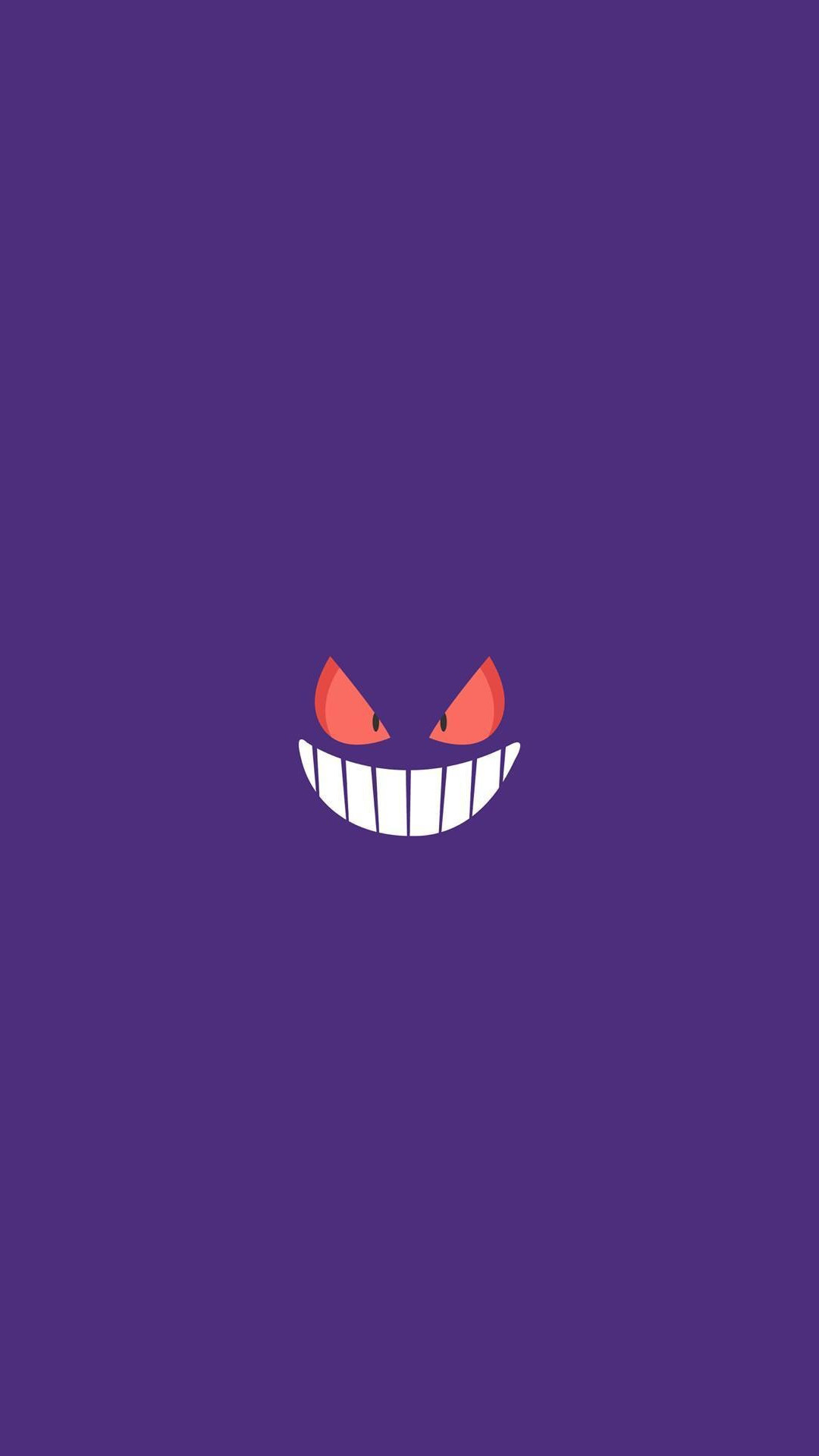 Gengar Pokemon Character iPhone 6+ HD Wallpaper – https://freebestpicture.com