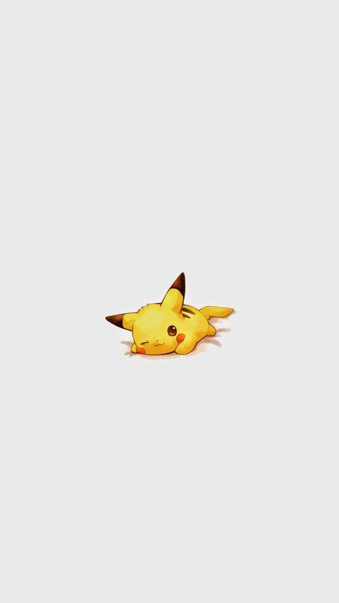 Cute Pikachu Pokemon Character iPhone 6+ HD Wallpaper –  https://freebestpicture.