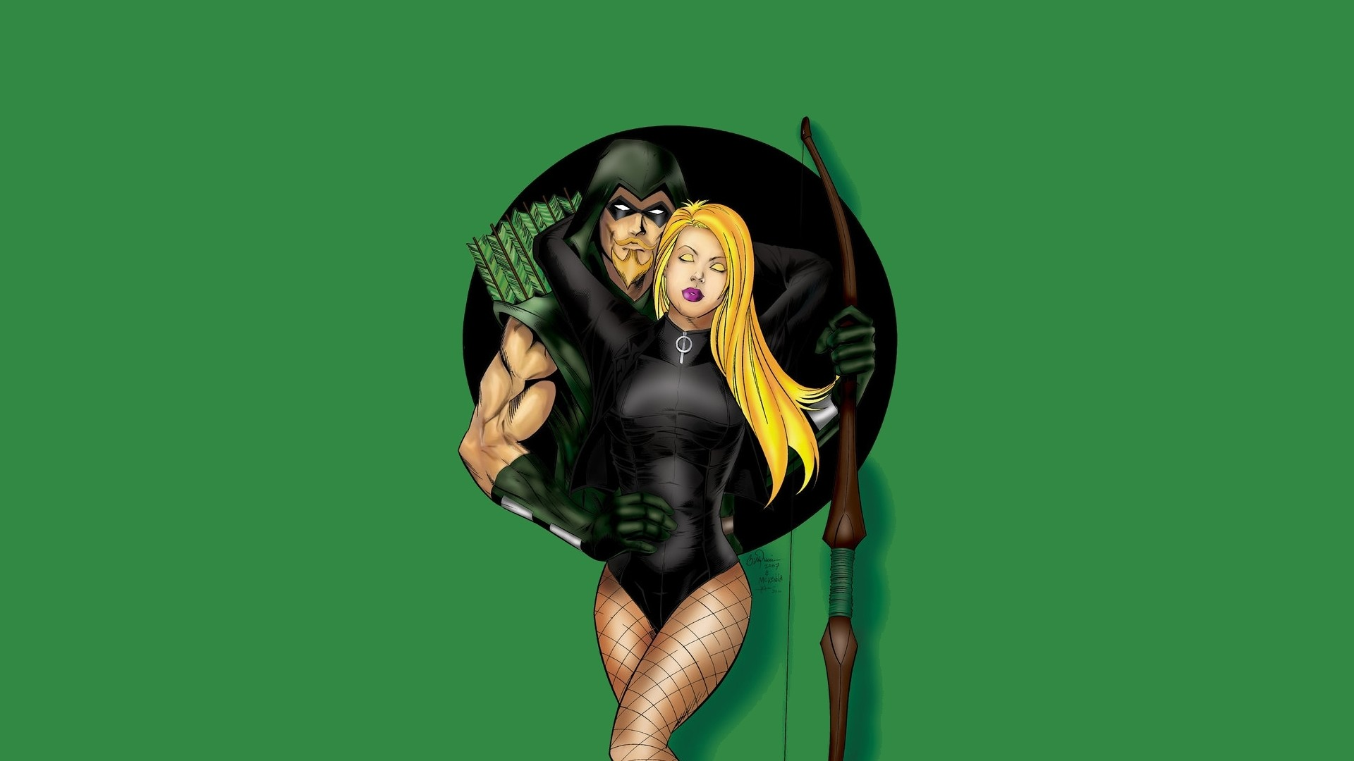 Comics – Green Arrow Black Canary Wallpaper