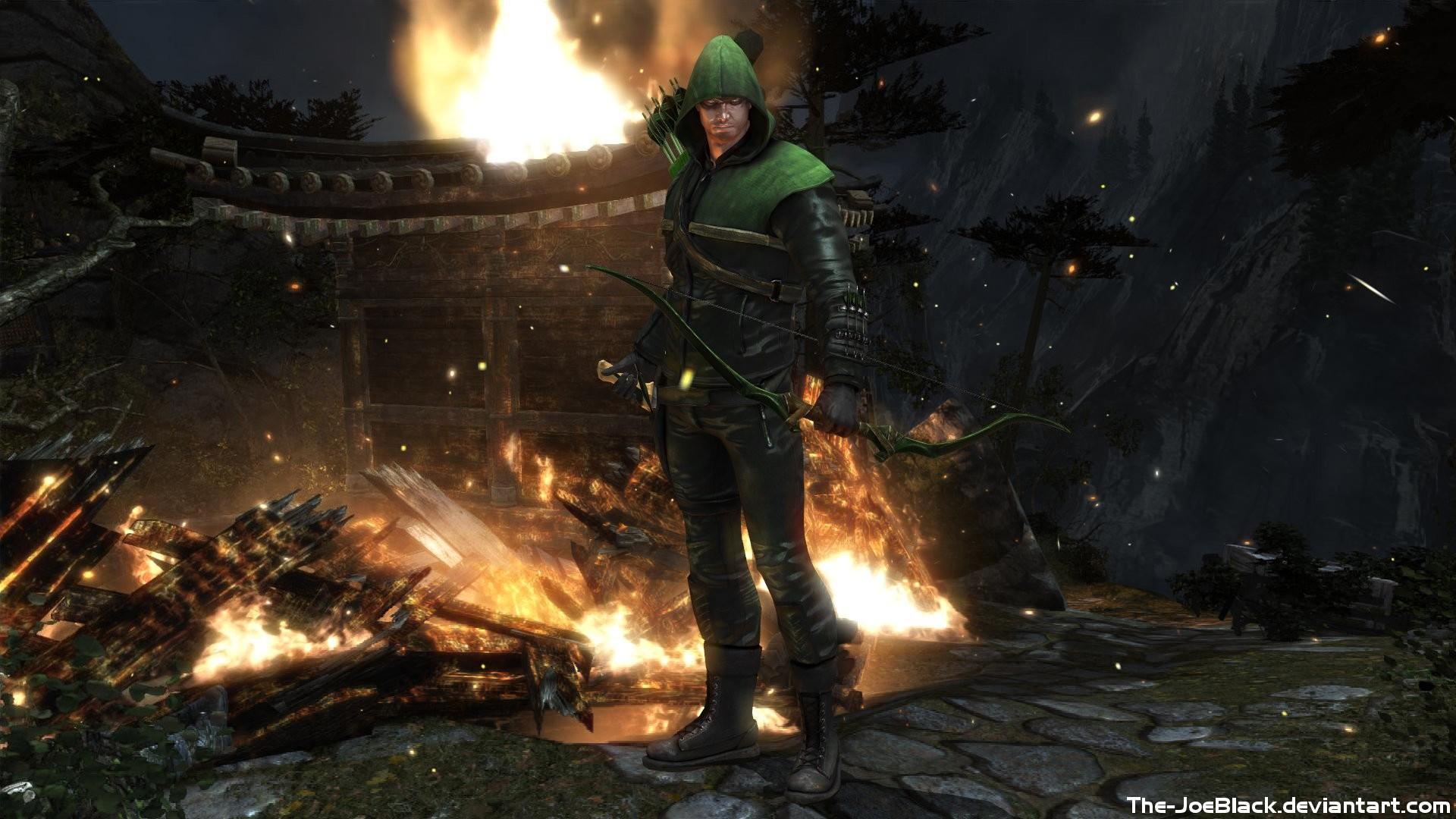 Video Game – Injustice: Gods Among Us Arrow (TV Show) Green Arrow Wallpaper