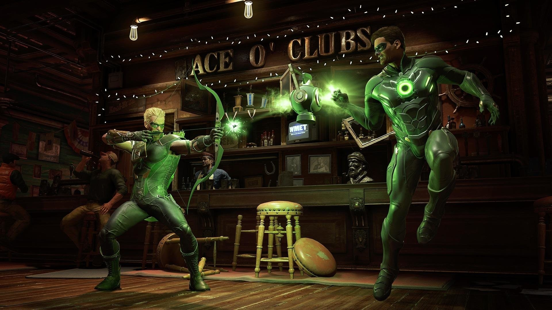 Video Game – Injustice 2 Green Arrow Green Lantern Wallpaper
