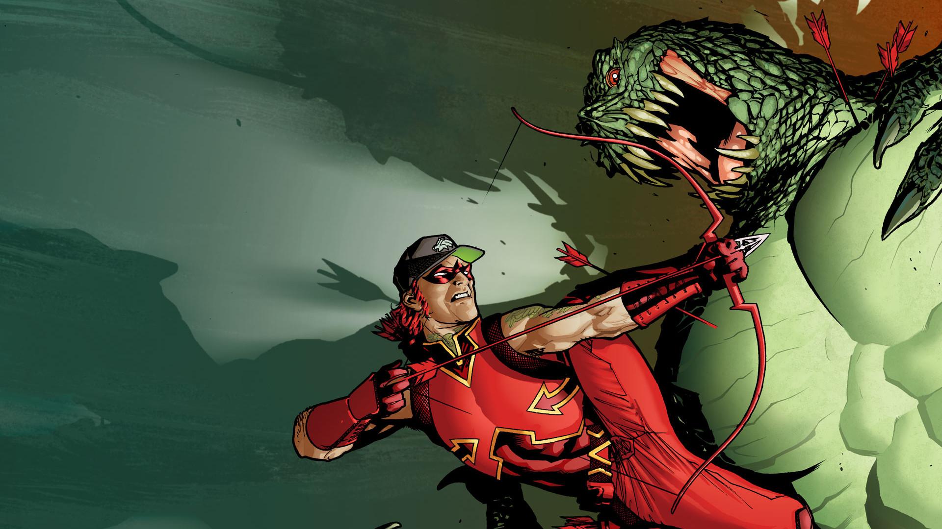 DC-comics Bow Arrow Monster wallpaper | | 73726 | WallpaperUP