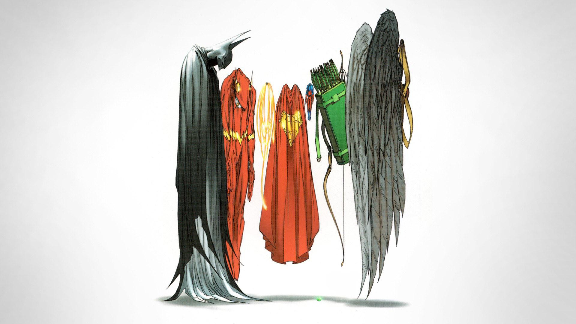 Justice League capes HD Wallpaper 1920×1080