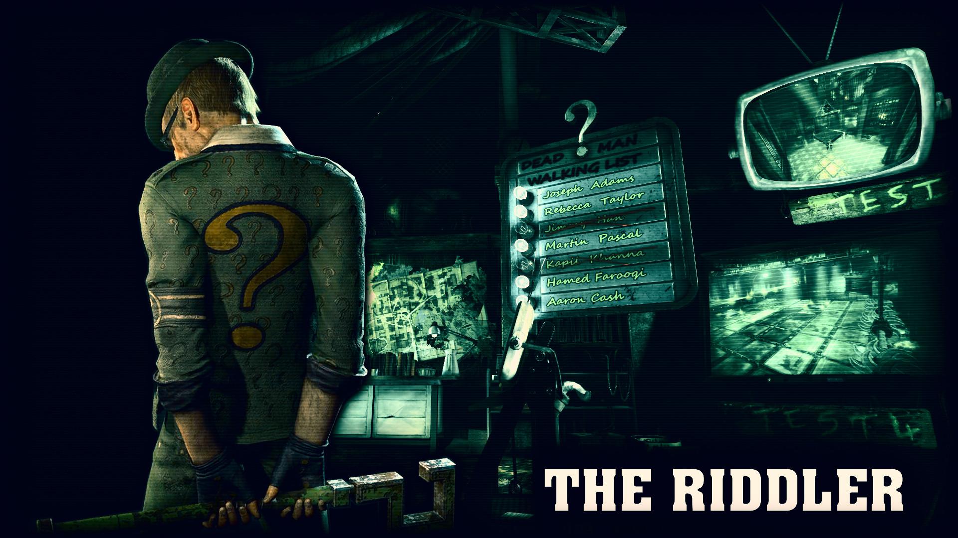 … riddler wallpaper wallpapersafari; console games wallpapers page 187 …