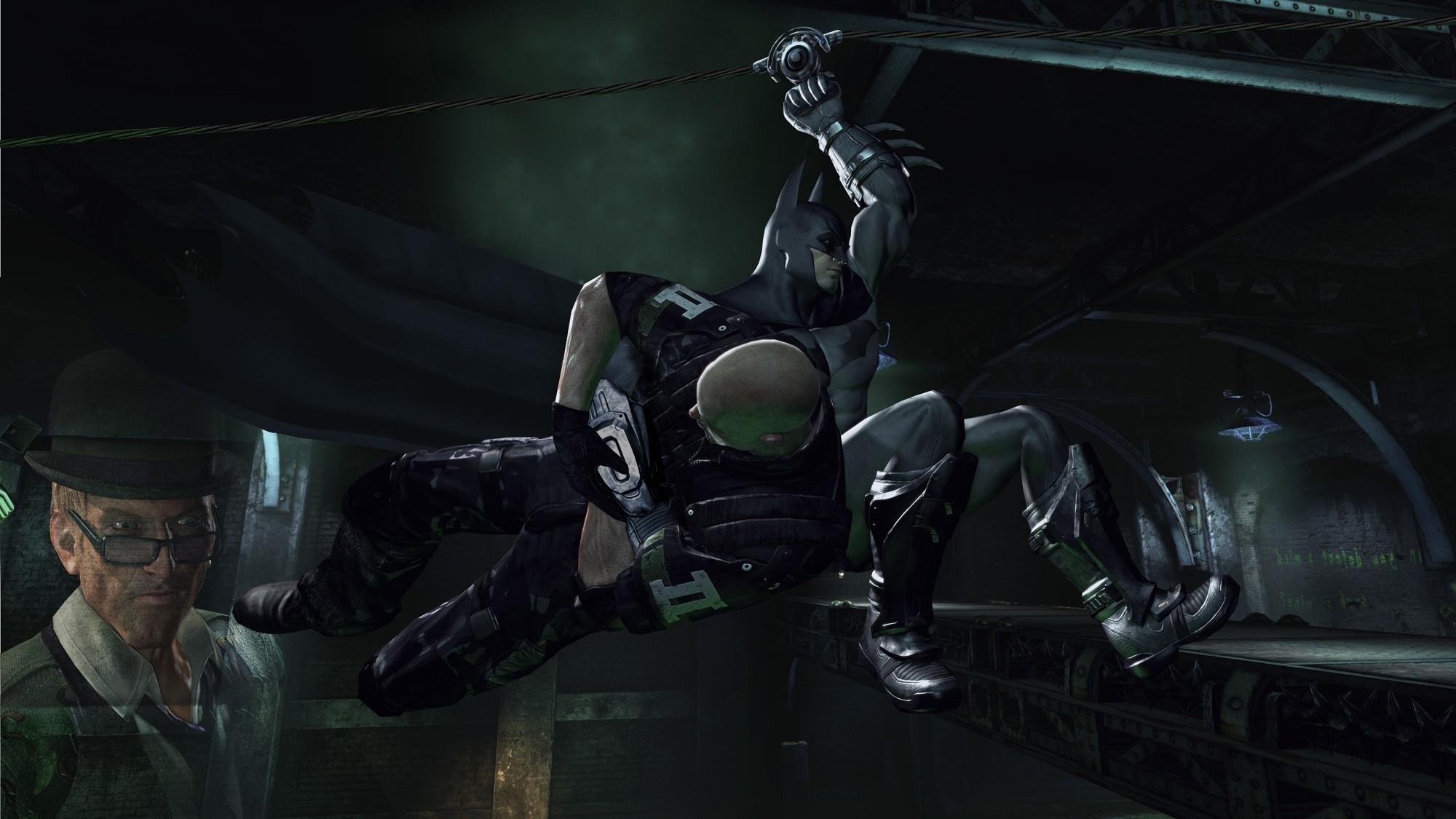 Batman, Batman: Arkham City, Video Games, Rocksteady Studios, The Riddler  Wallpapers HD / Desktop and Mobile Backgrounds