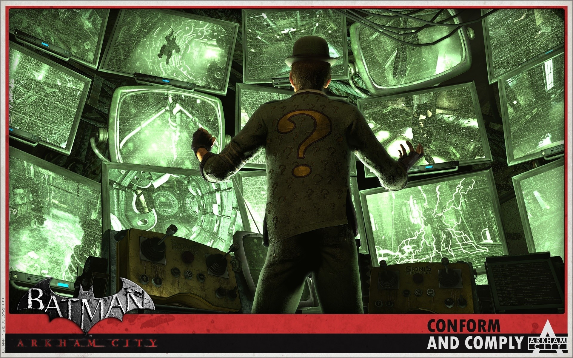Batman Arkham City images The Riddler HD wallpaper and background photos