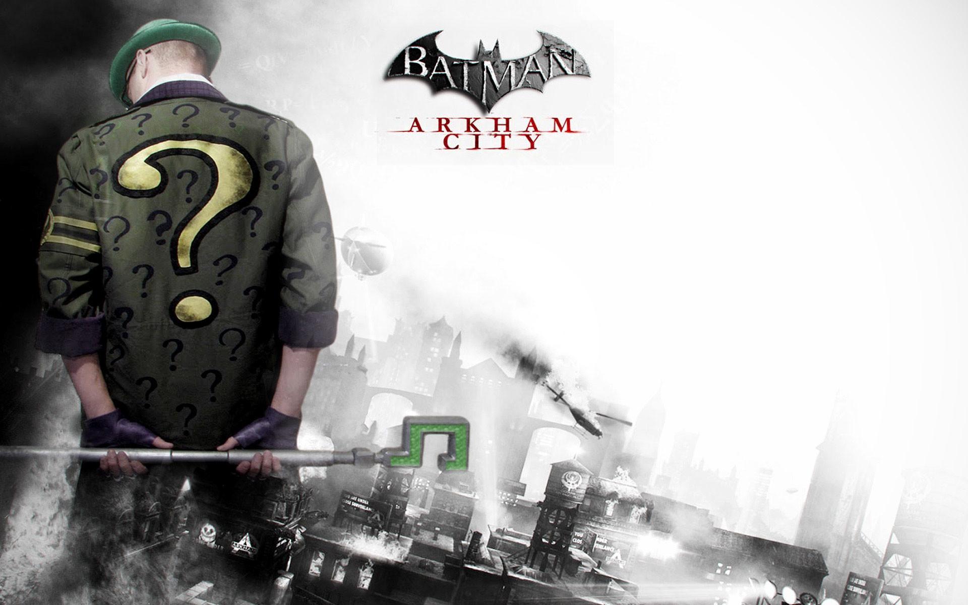 Games Wallpapers – Batman: Arkham City Riddler wallpaper