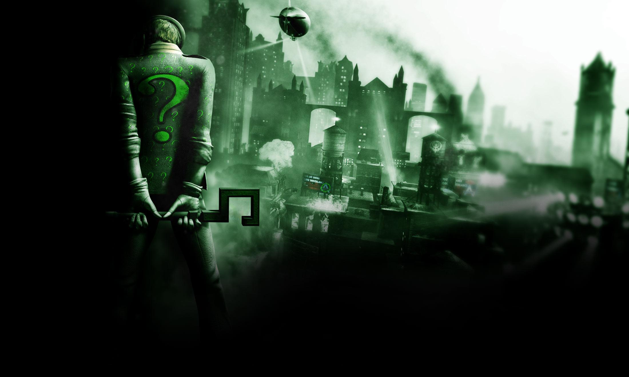 … Batman-Arkham City Riddler Background.jpg …